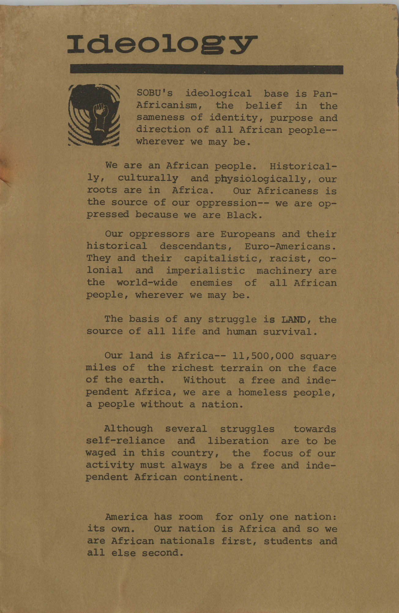 Work for African Liberation, Page 3