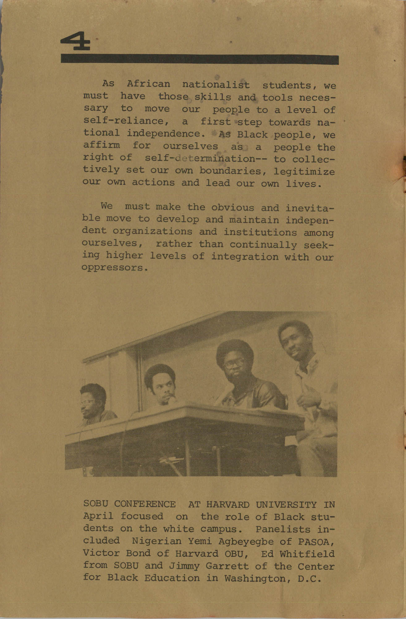 Work for African Liberation, Page 4