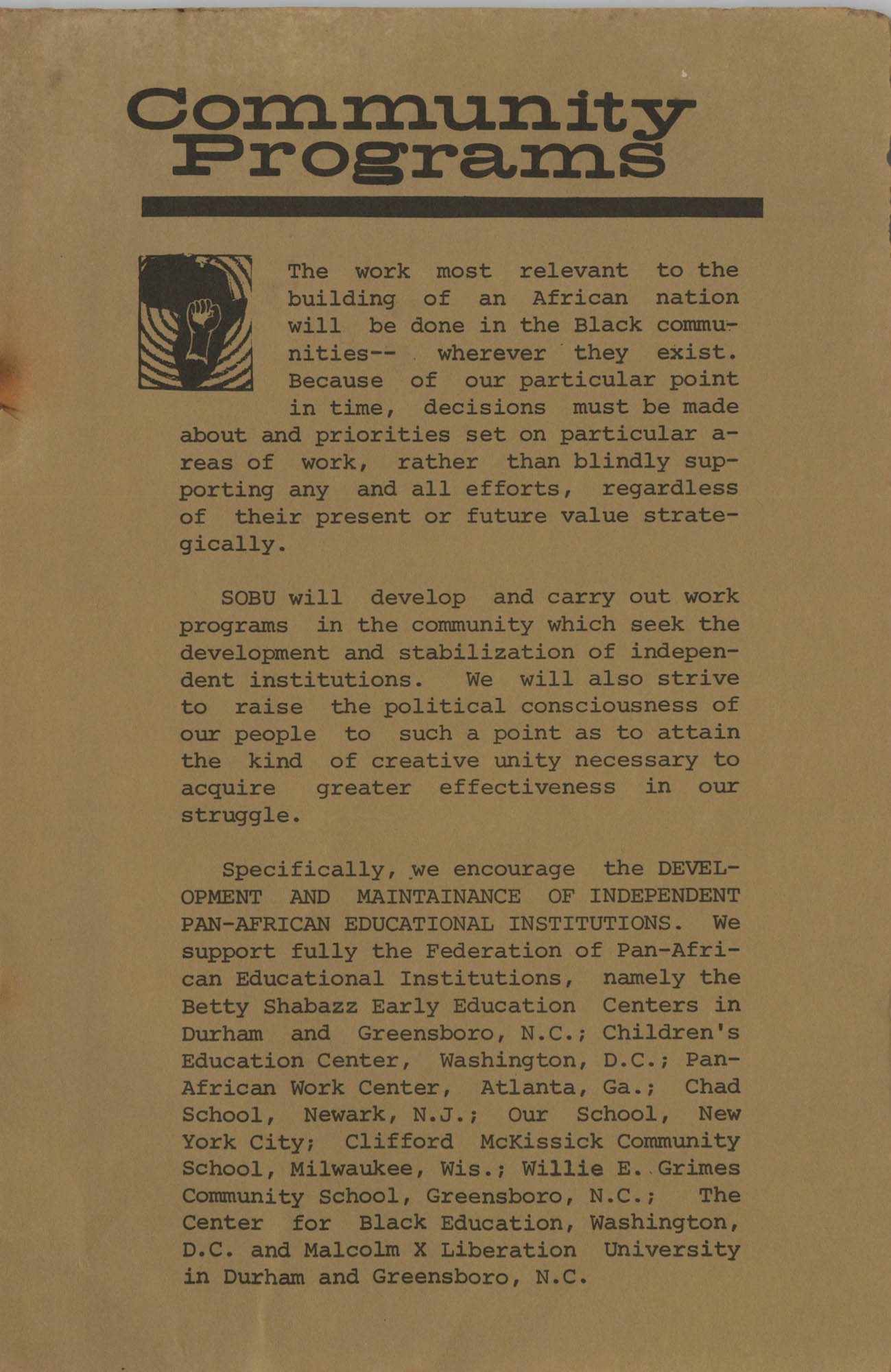Work for African Liberation, Page 5