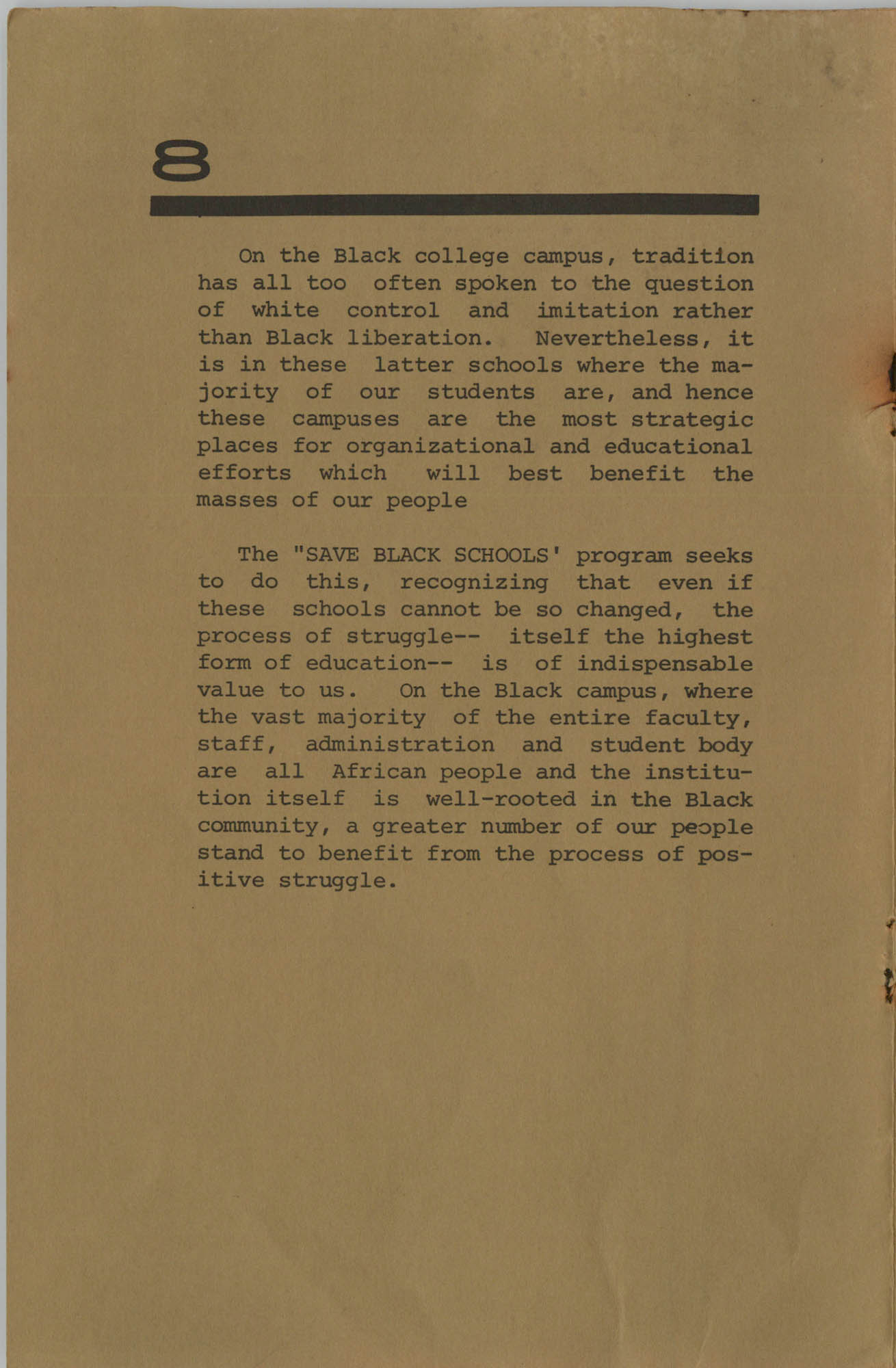 Work for African Liberation, Page 8