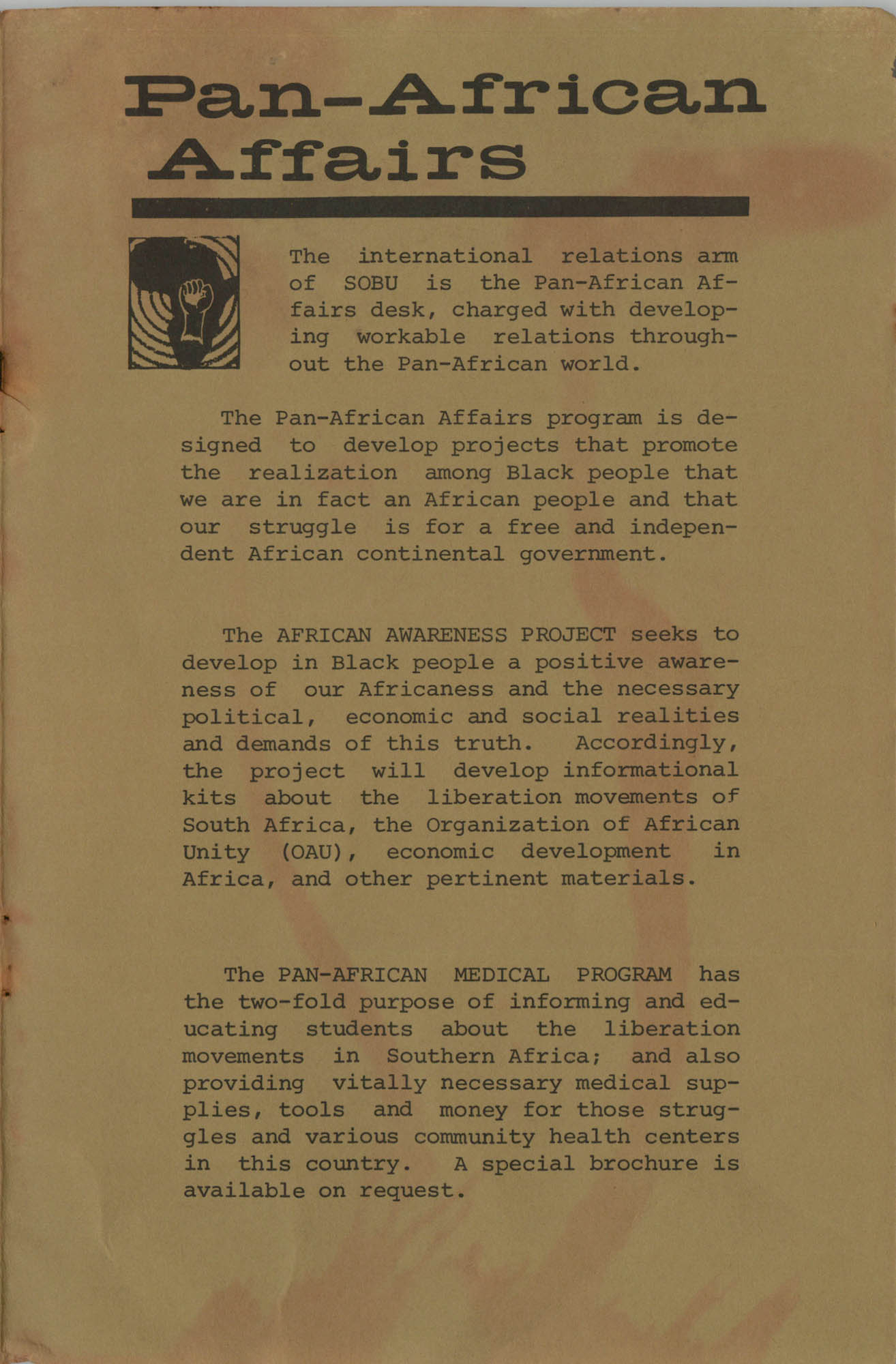 Work for African Liberation, Page 11