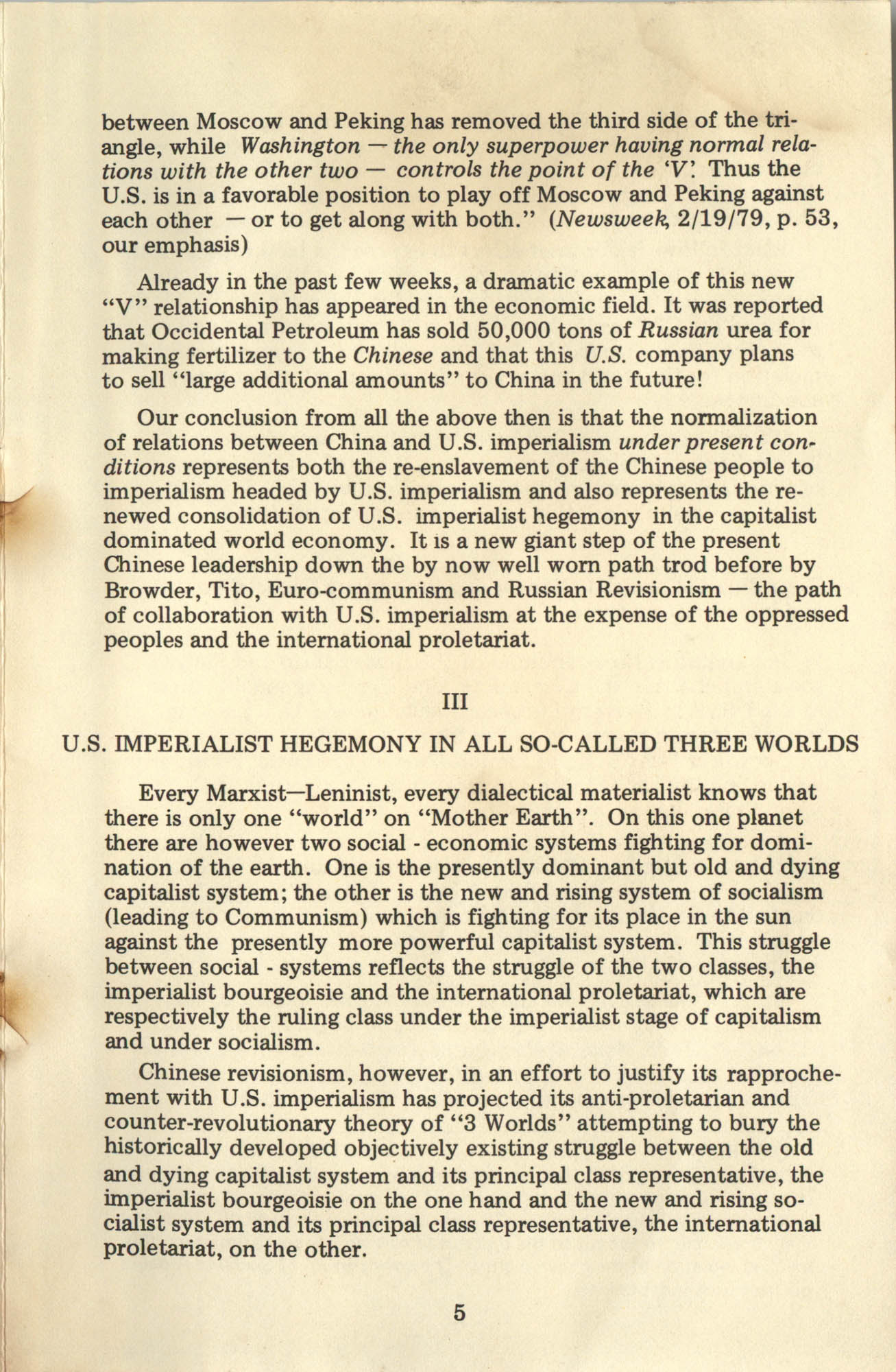 Ray O. Light Newsletter, Volume 1, Number 2, Page 5