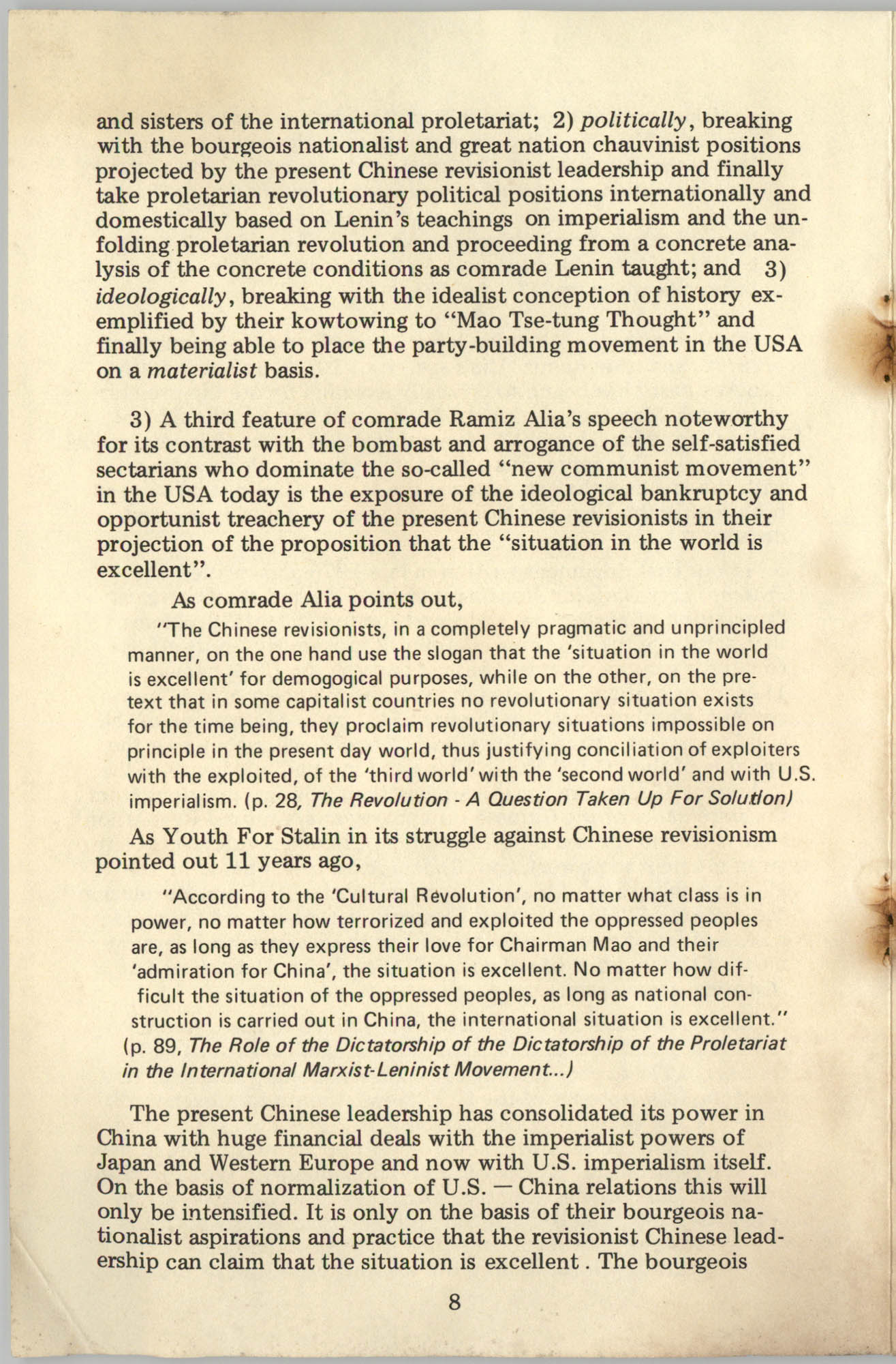 Ray O. Light Newsletter, Volume 1, Number 3, Page 8
