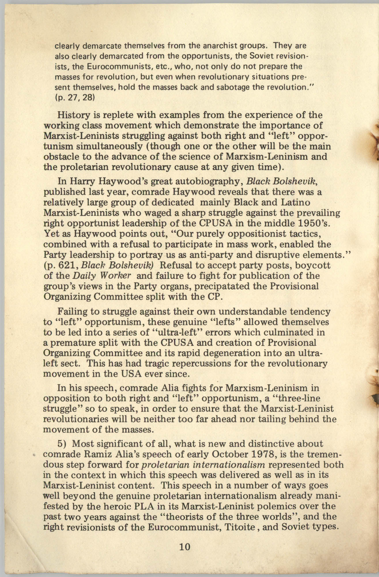 Ray O. Light Newsletter, Volume 1, Number 3, Page 10