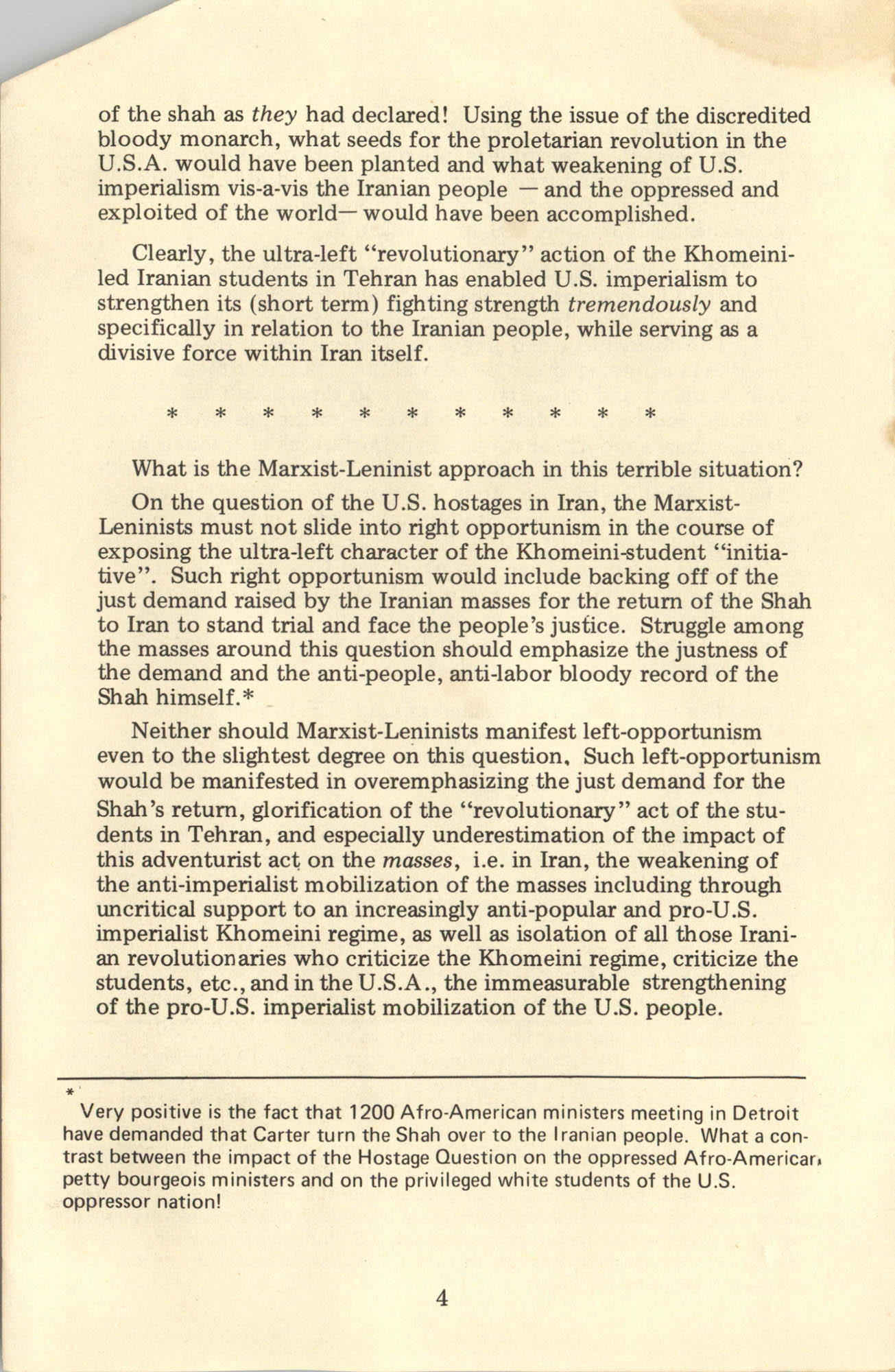 Ray O. Light Newsletter, Volume 1, Number 4, Page 4