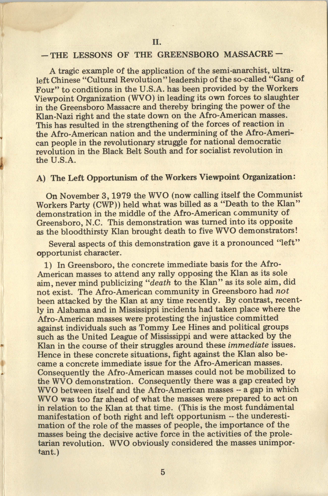 Ray O. Light Newsletter, Volume 1, Number 4, Page 5