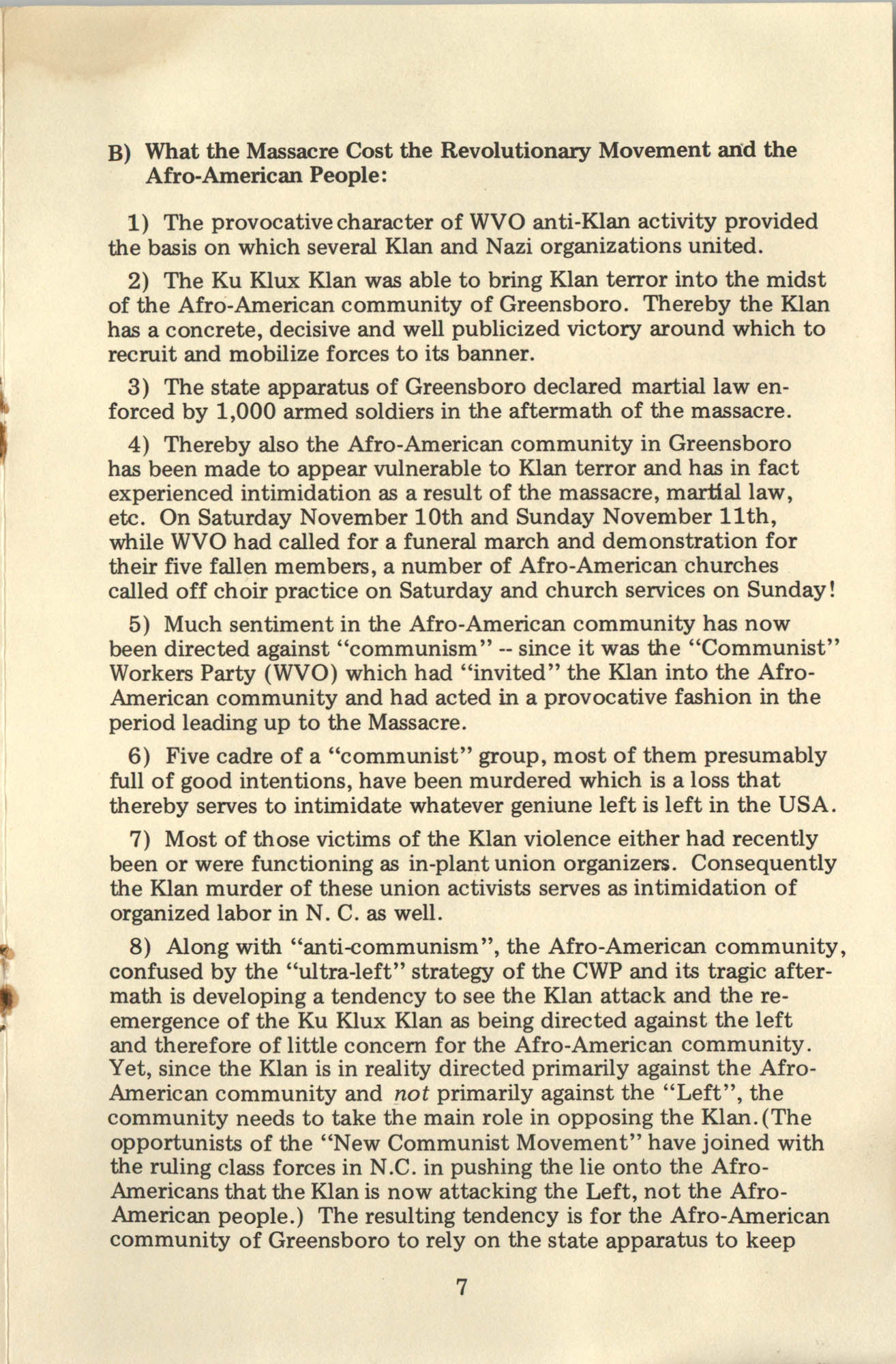 Ray O. Light Newsletter, Volume 1, Number 4, Page 7