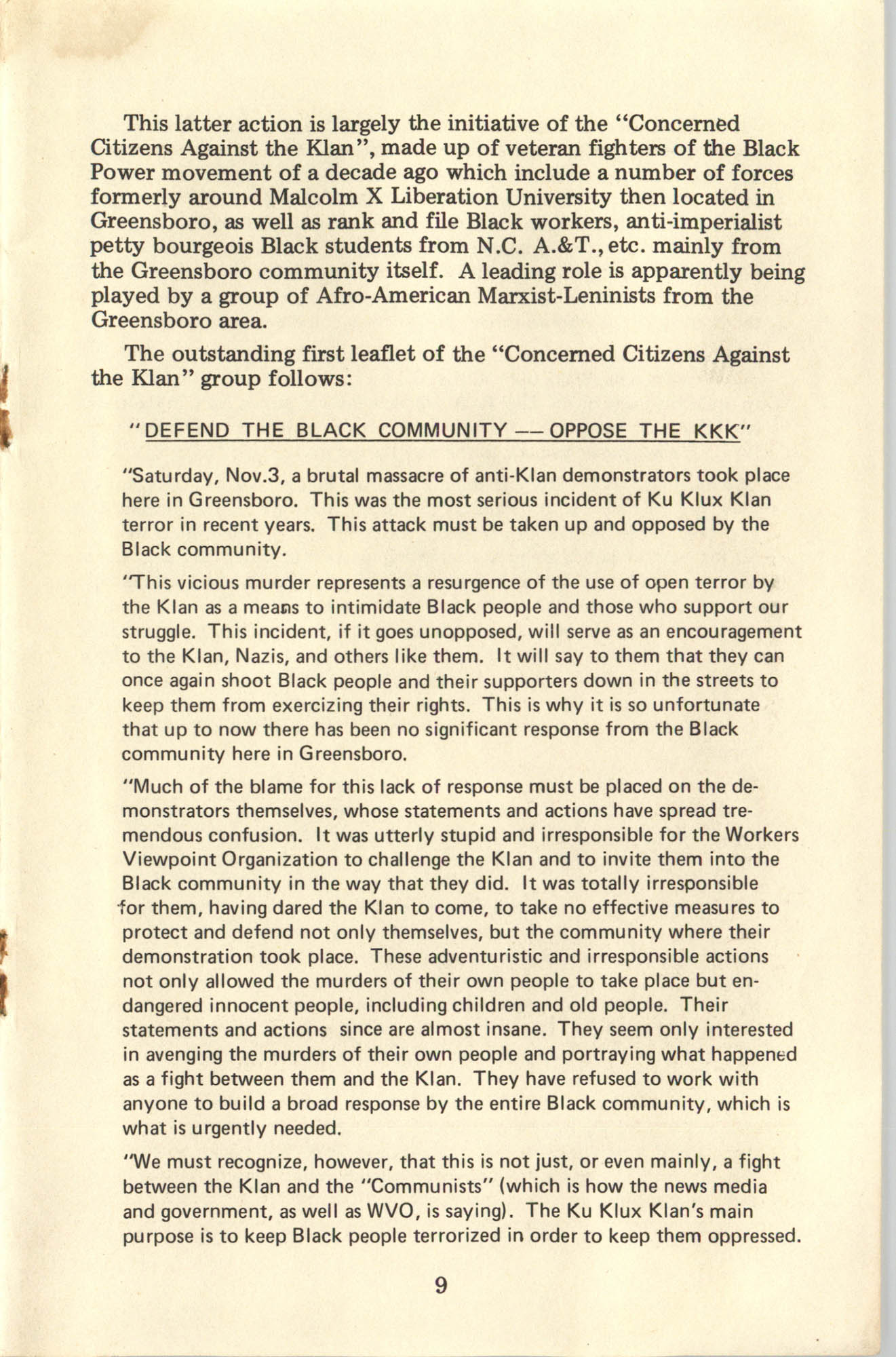 Ray O. Light Newsletter, Volume 1, Number 4, Page 9