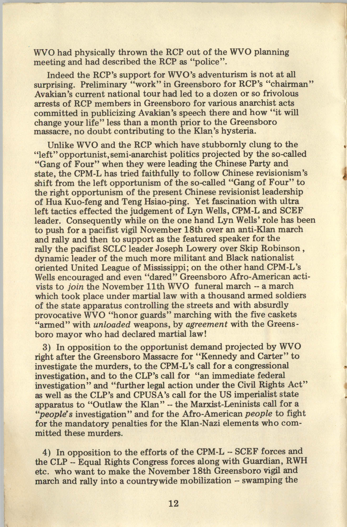 Ray O. Light Newsletter, Volume 1, Number 4, Page 12