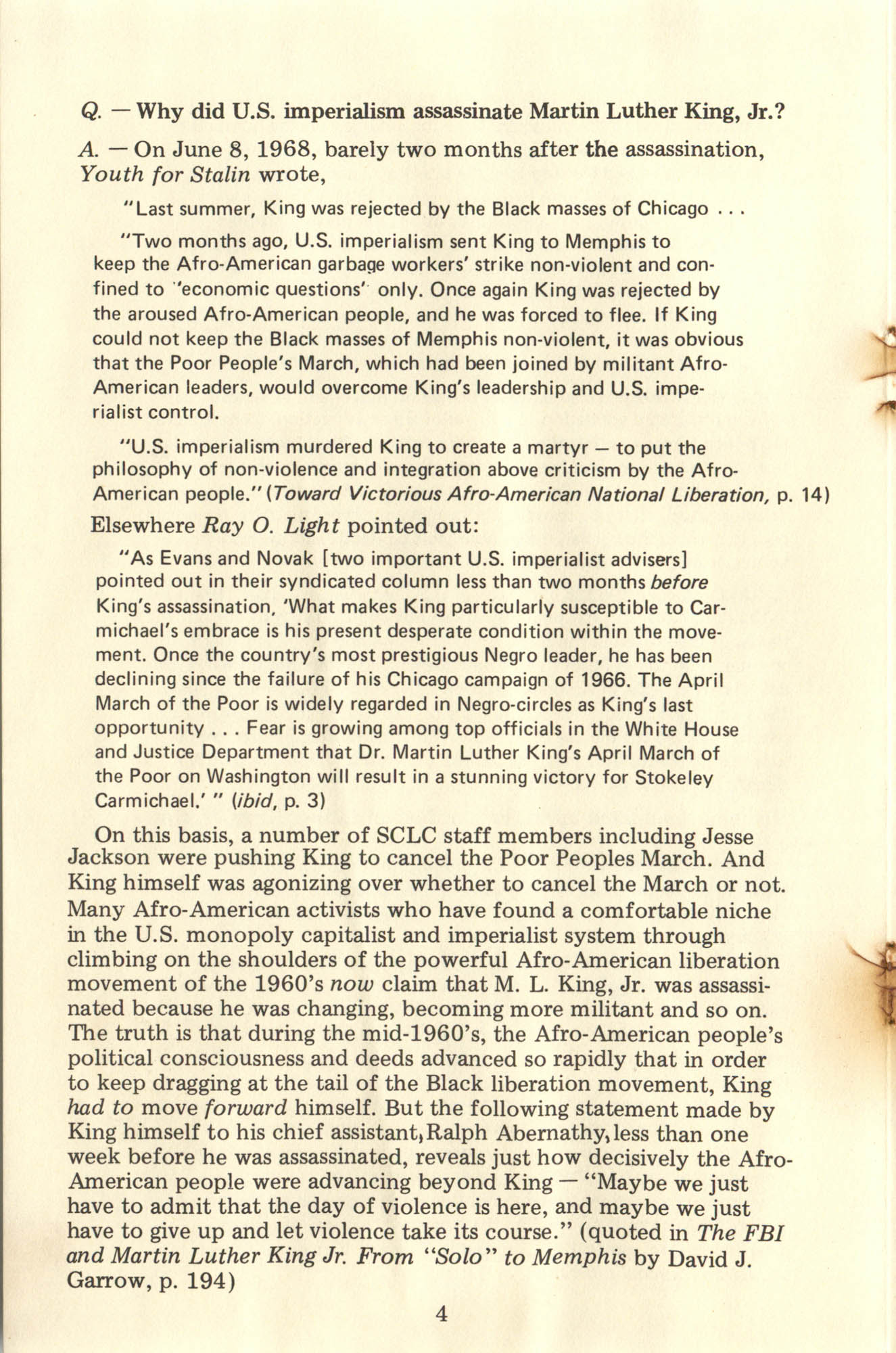 Ray O. Light Newsletter, Number 23, Page 4