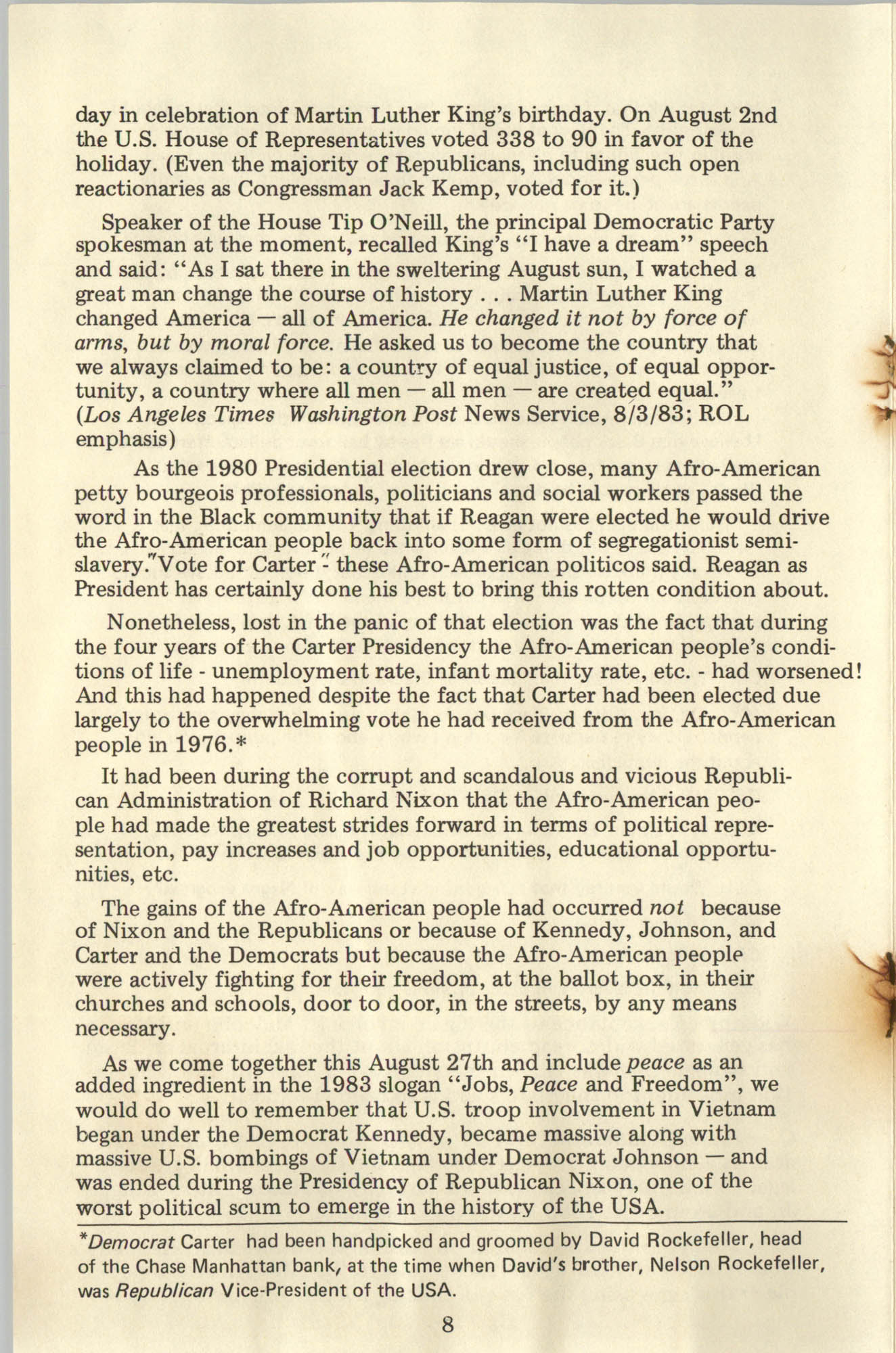 Ray O. Light Newsletter, Number 23, Page 8
