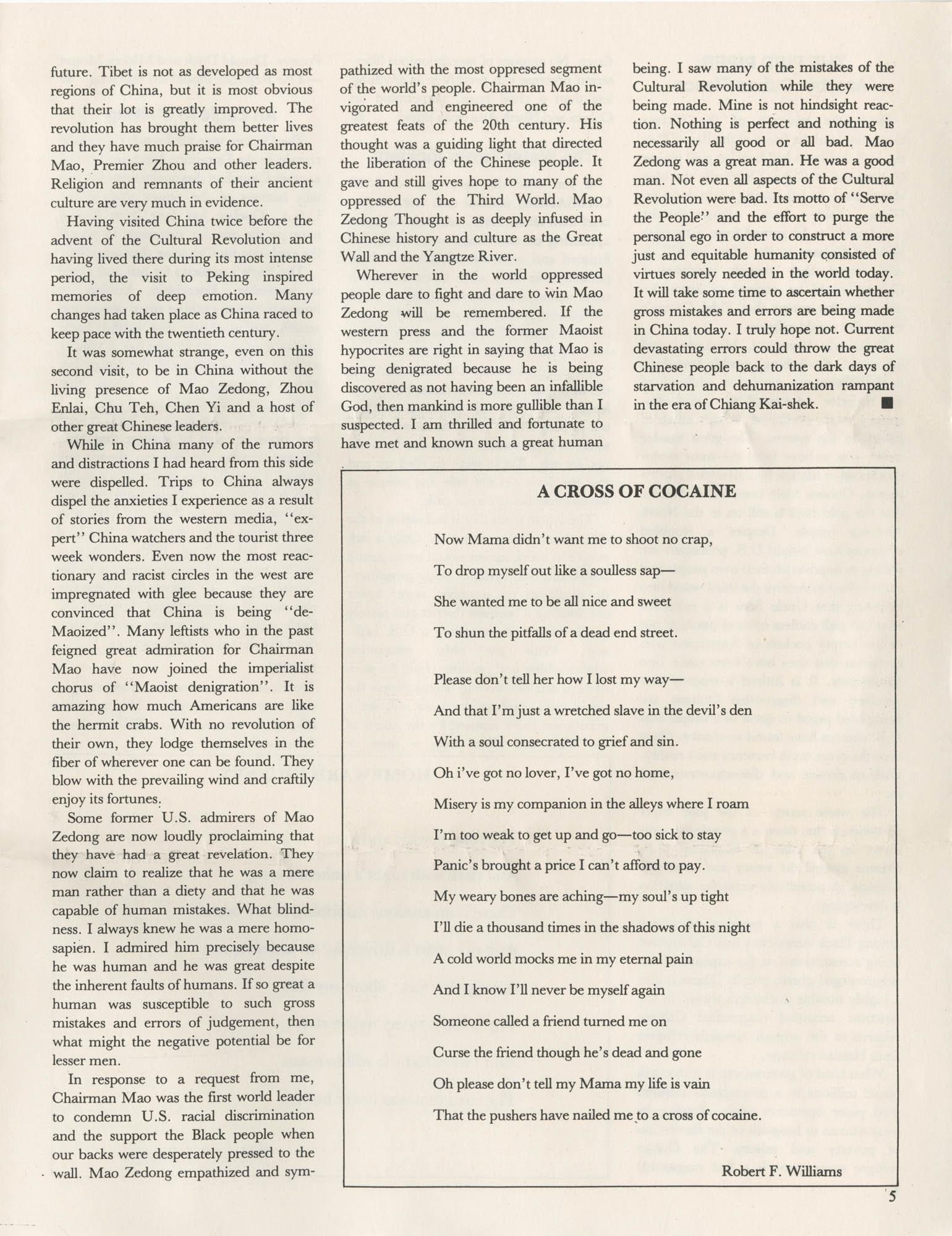 The Crusader, Vol. XII, No. 1, Page 5