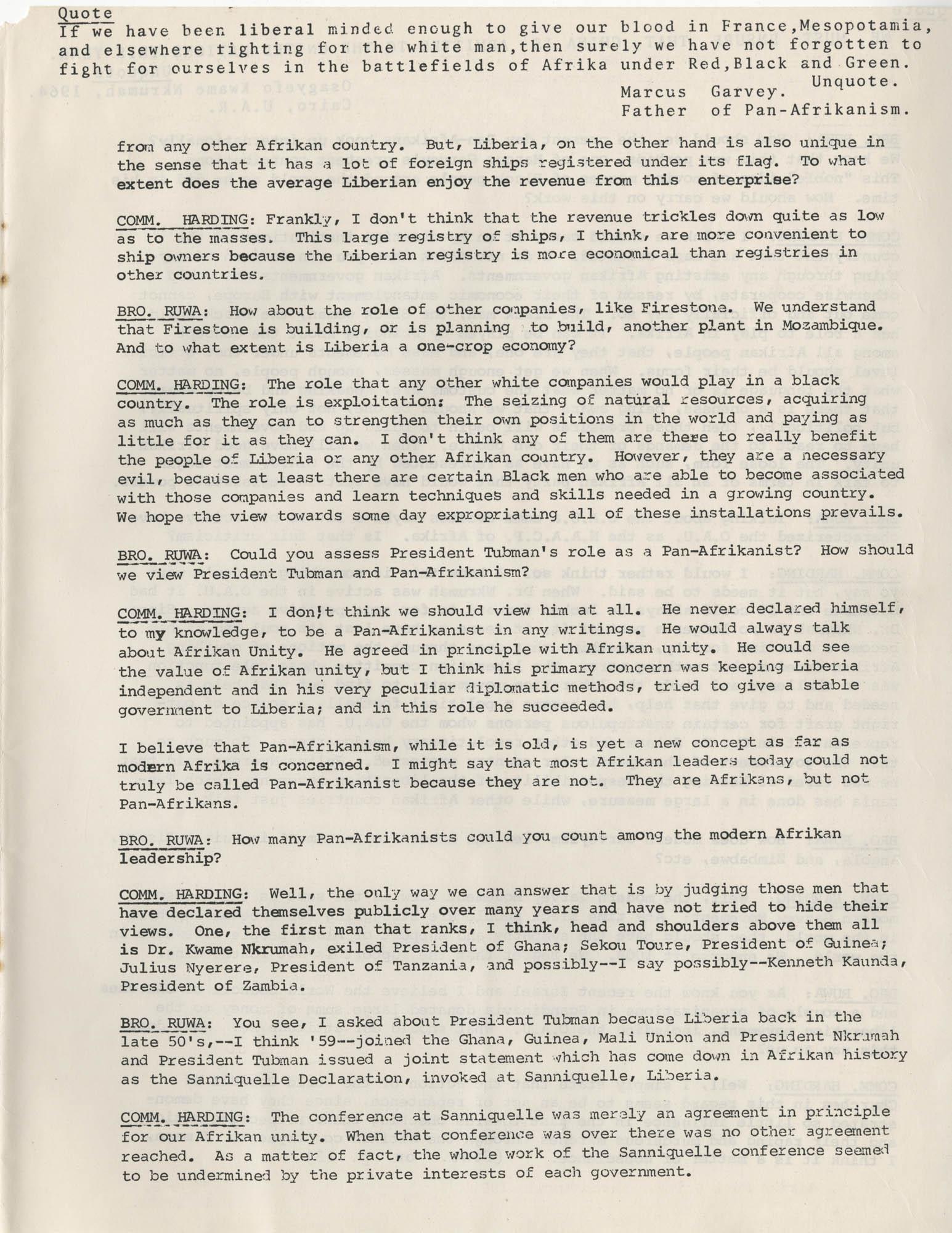 Afrika Must Unite, Vol. 1, No. 4, Page 9
