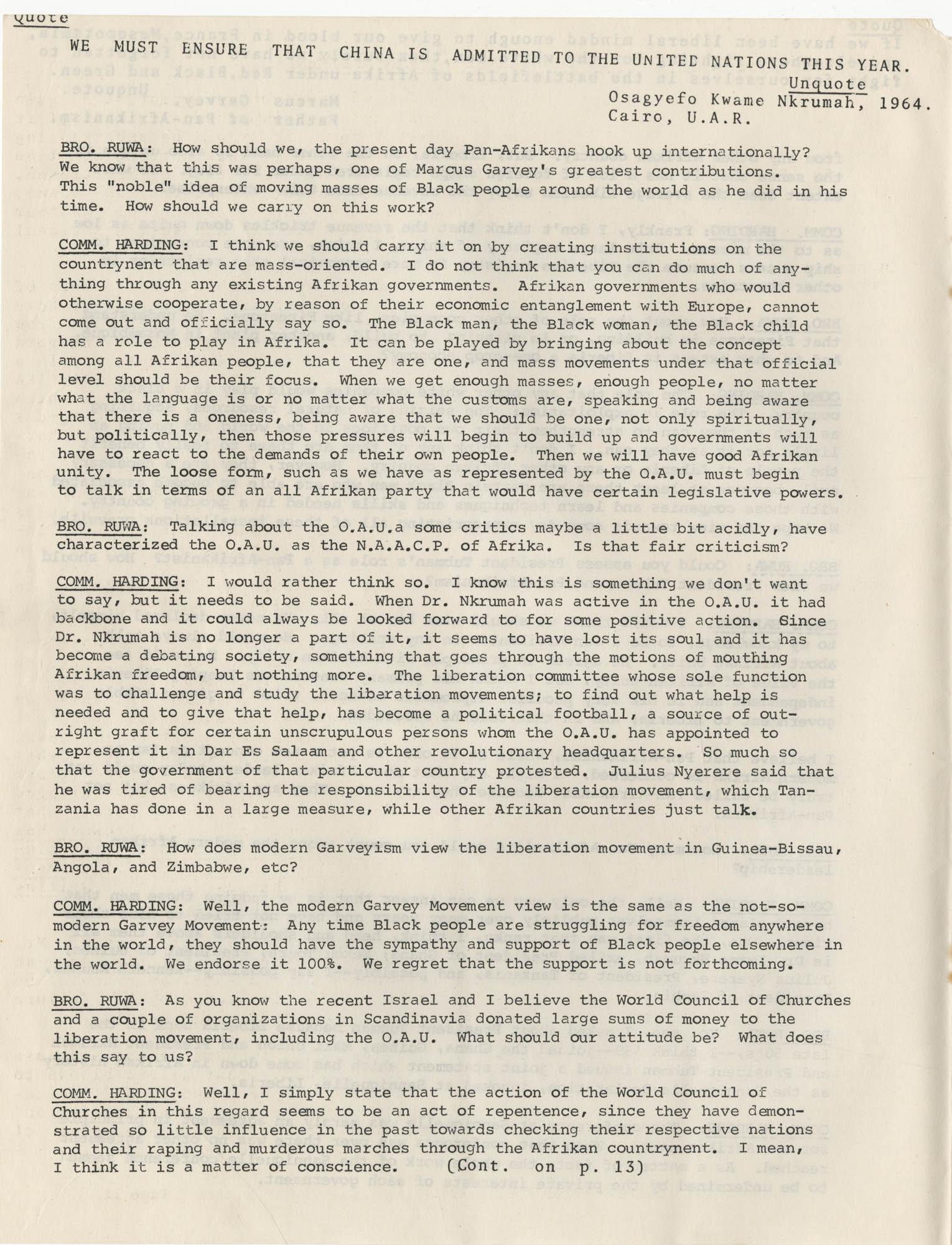 Afrika Must Unite, Vol. 1, No. 4, Page 10