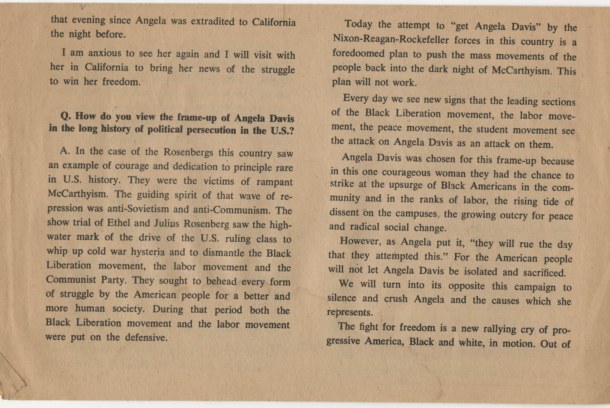 Henry Winston Meets Angela Davis, Page 5