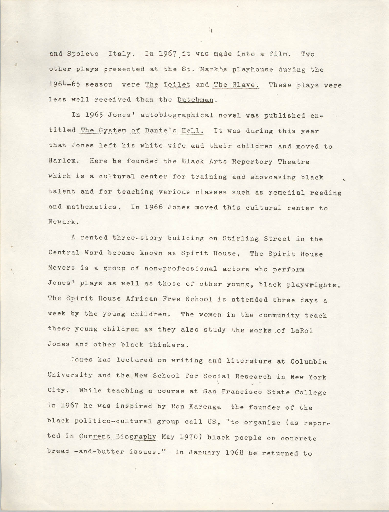 Center for African and African-American Studies Bibliography No. 2, Page 4