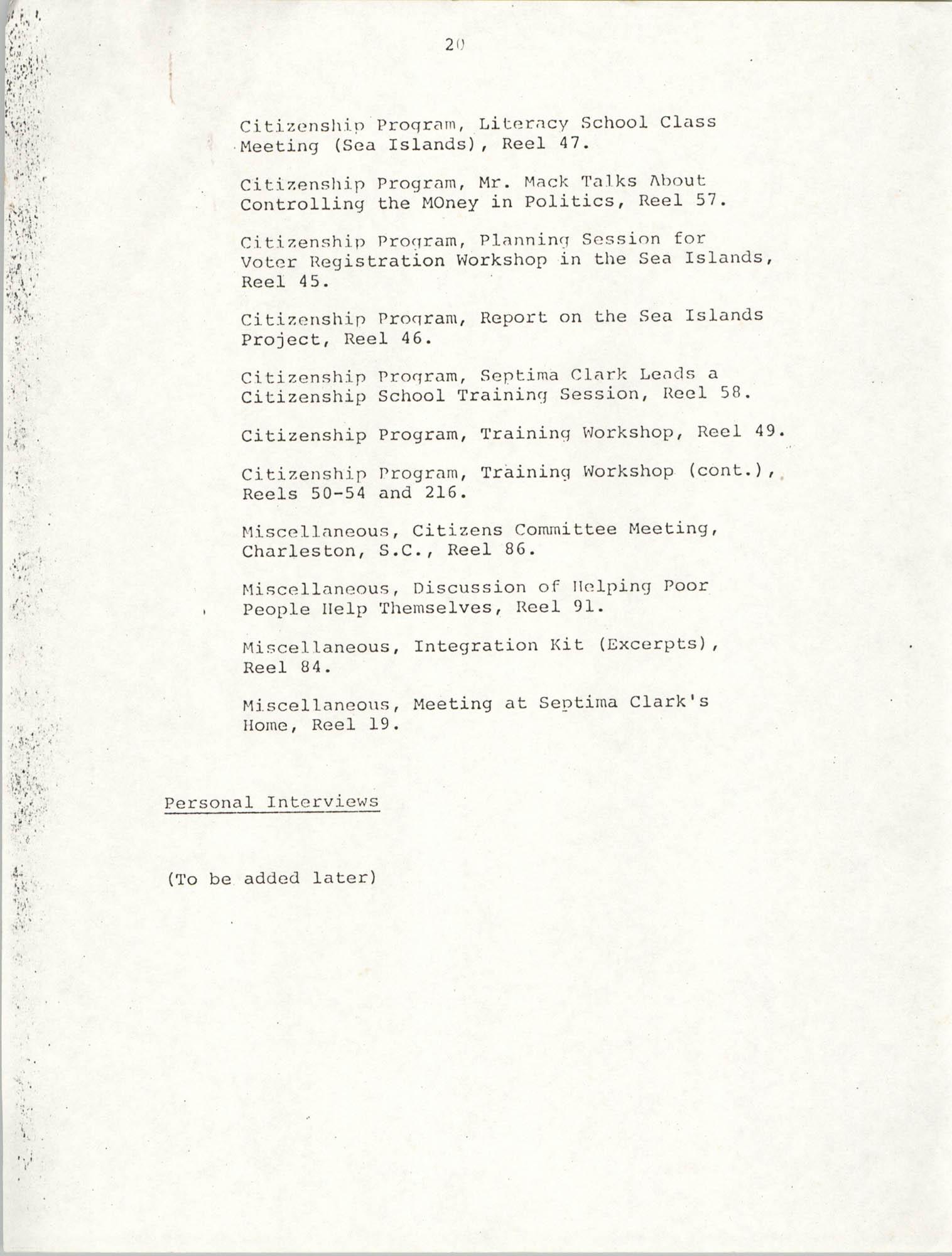 Dissertation Proposal, Page 20