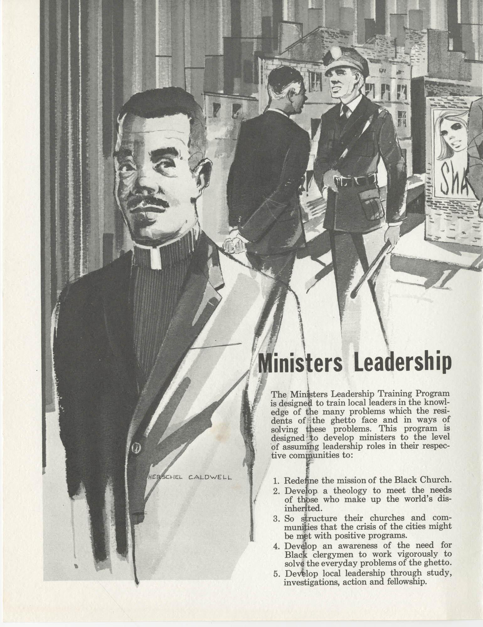Ministers Leadership Training Program, Page 1