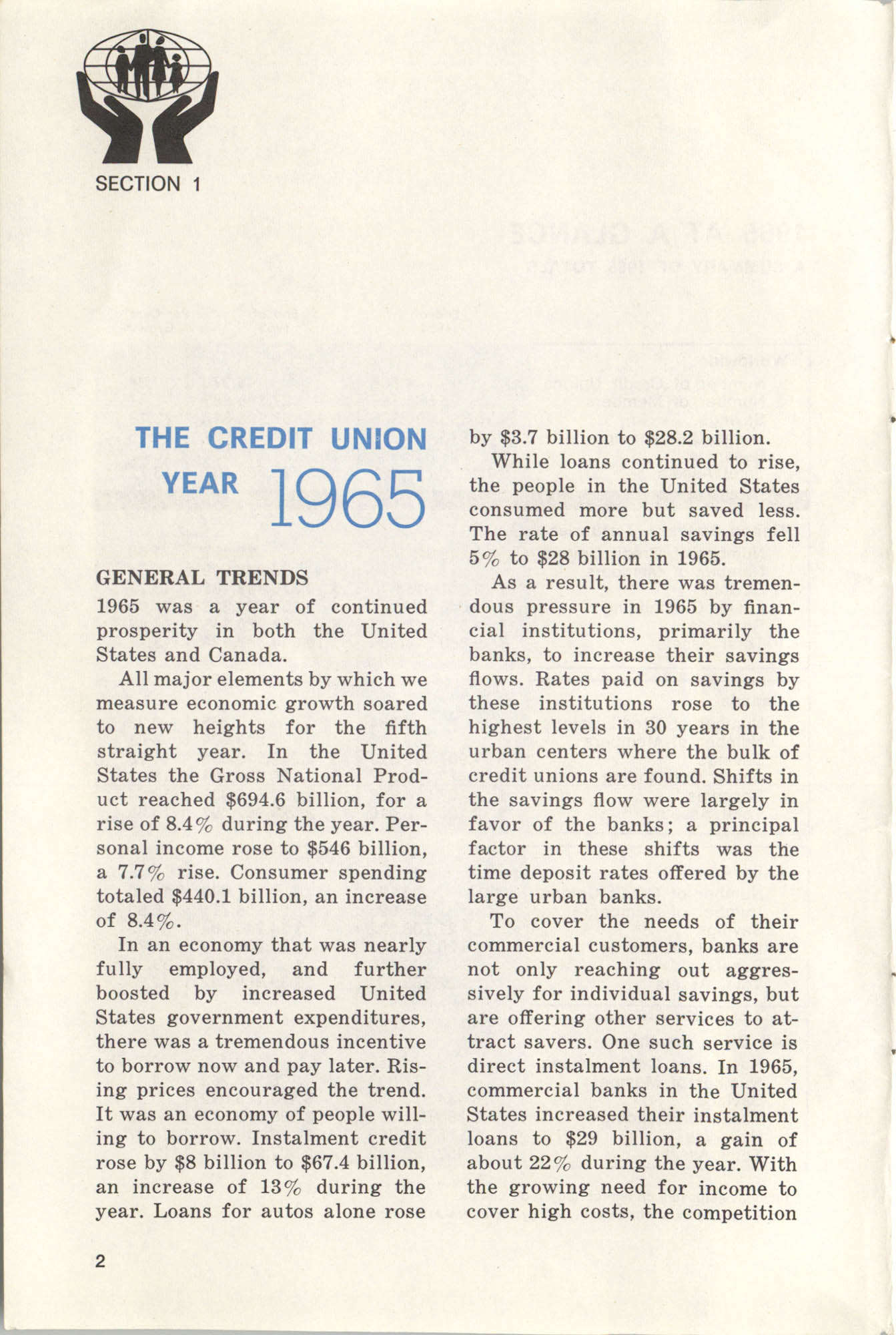 International Credit Union Yearbook, Page 2