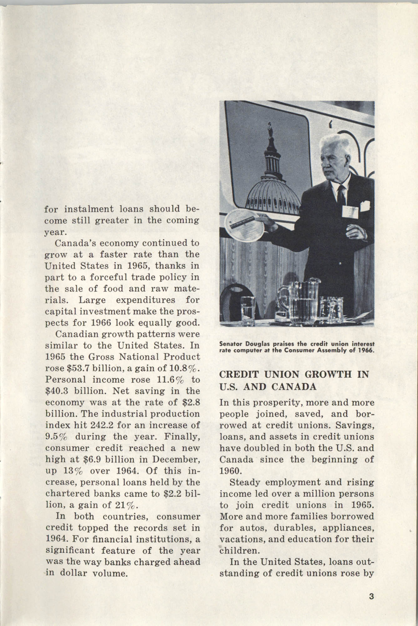International Credit Union Yearbook, Page 3