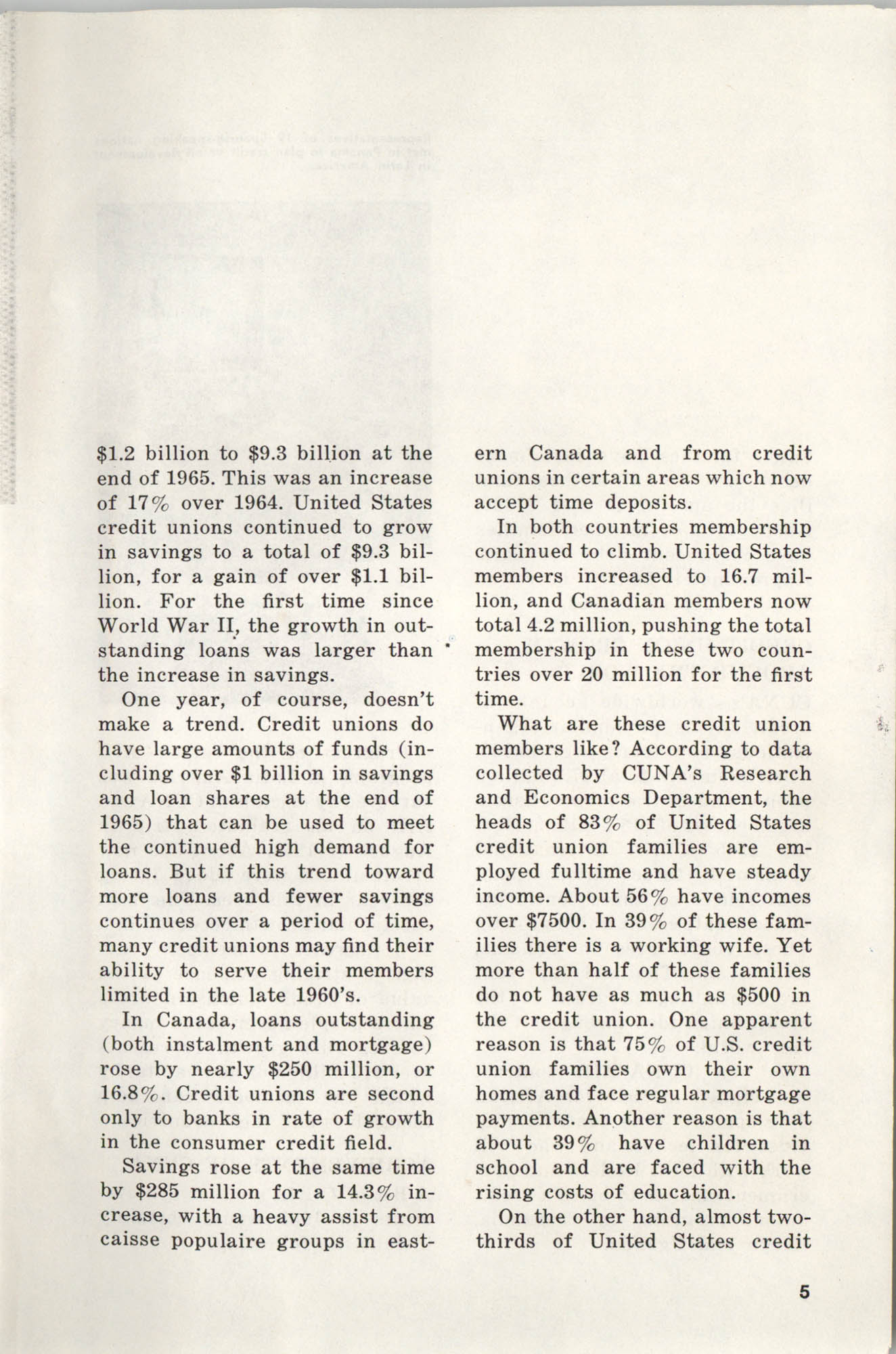 International Credit Union Yearbook, Page 5