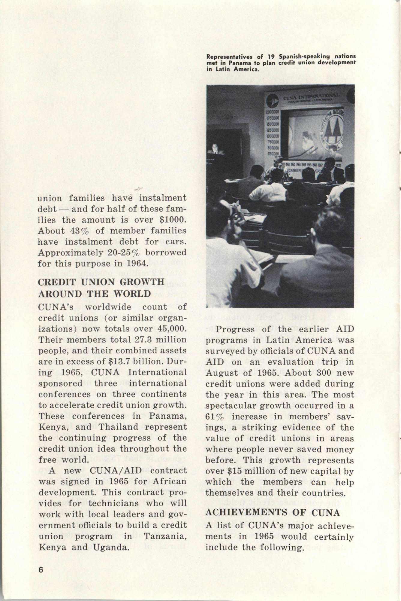 International Credit Union Yearbook, Page 6