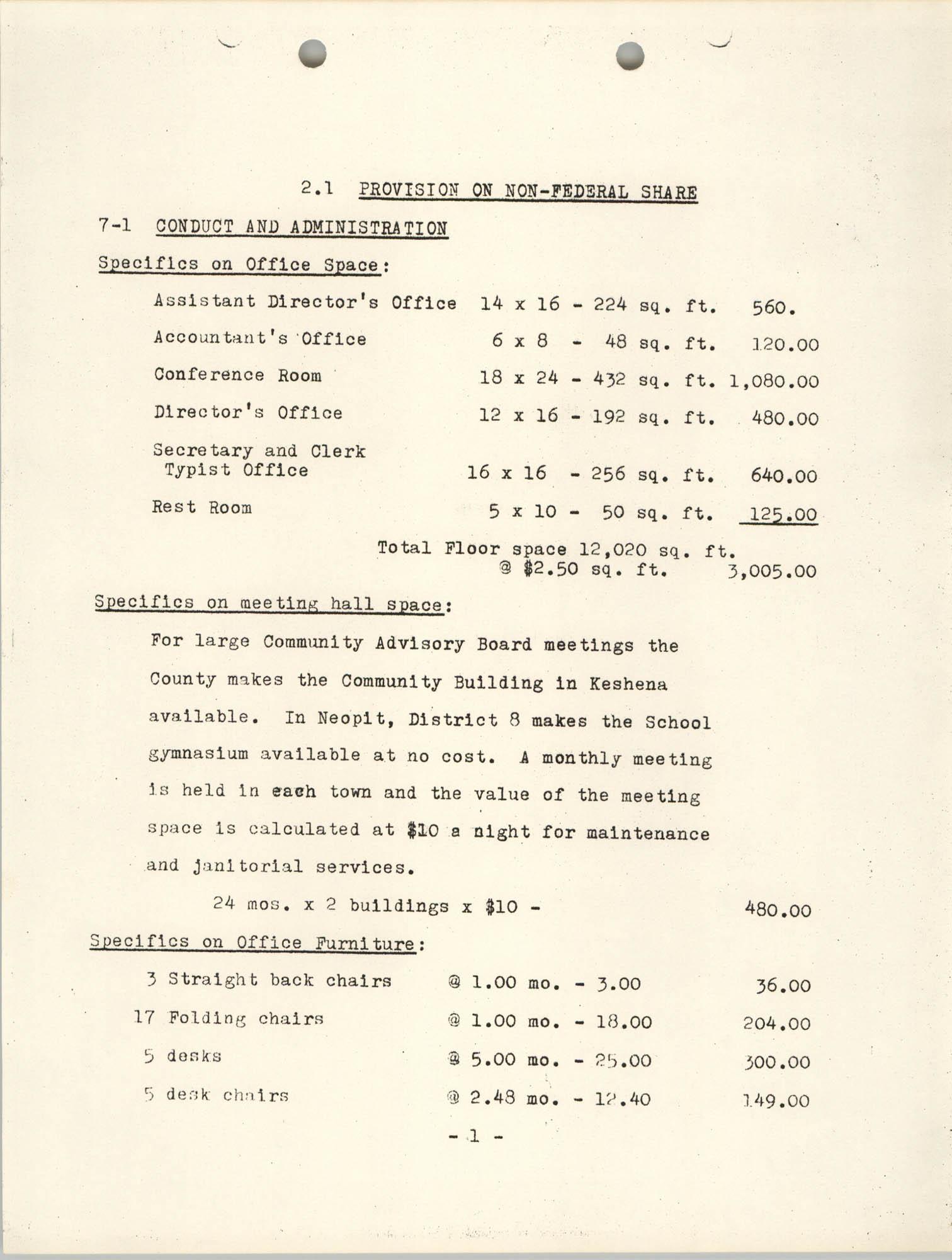 CAP Grant Materials, CAP 2 Program Characteristics, Page 2