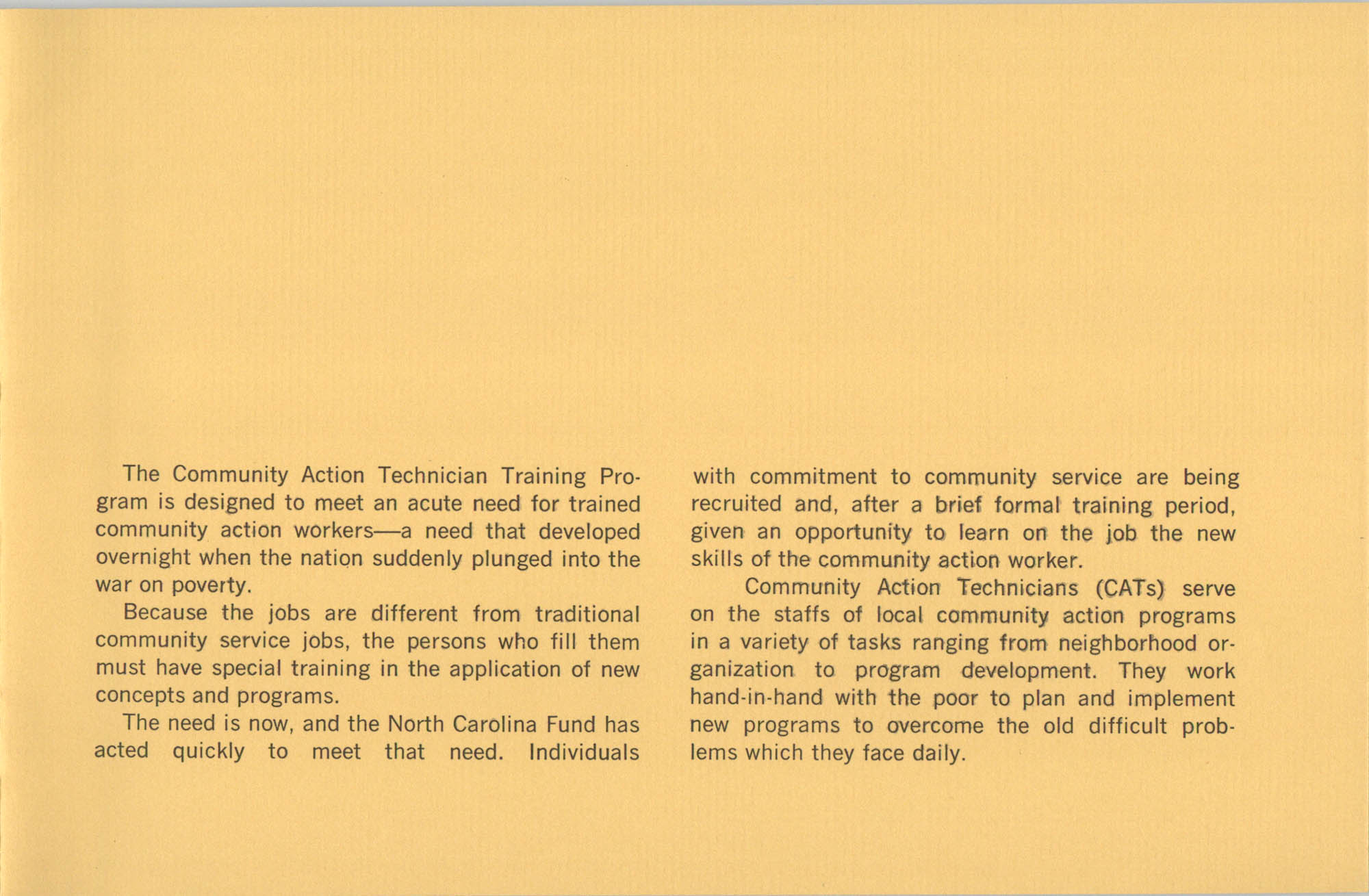 Community Action Technician Training Program, Page 15