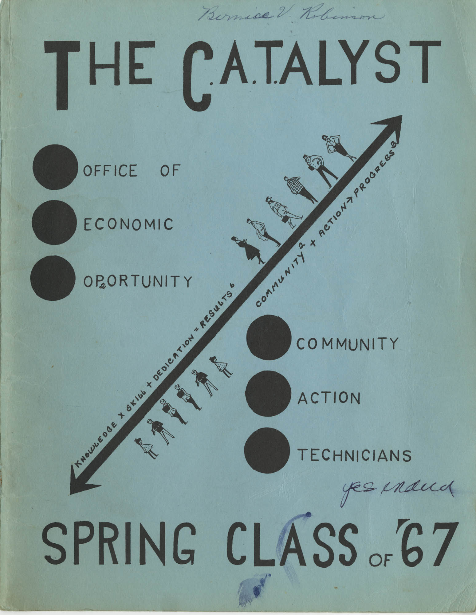 The C.A.T.ALYST, Front Cover Exterior