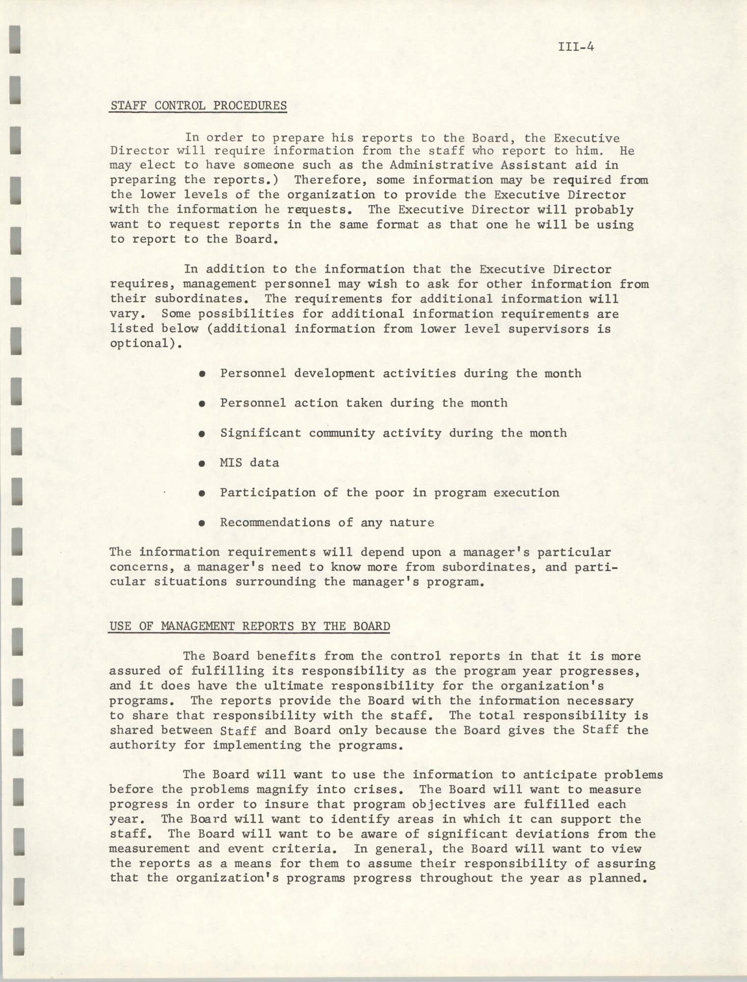 Program Planning and Control Procedures Guide for South Carolina Commission for Farm Workers, Inc., Page III-4