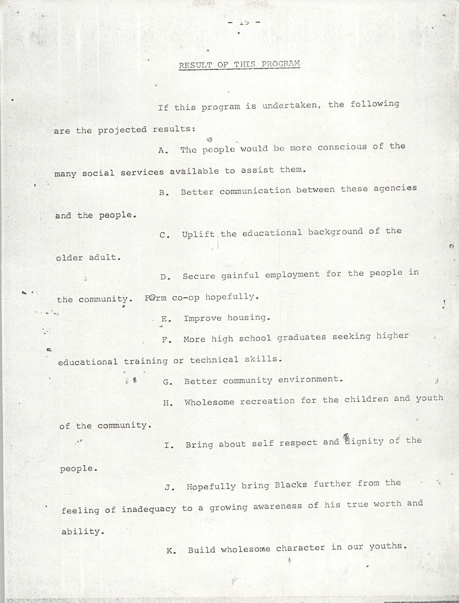 Report on Petersfield, South Carolina, Page 19