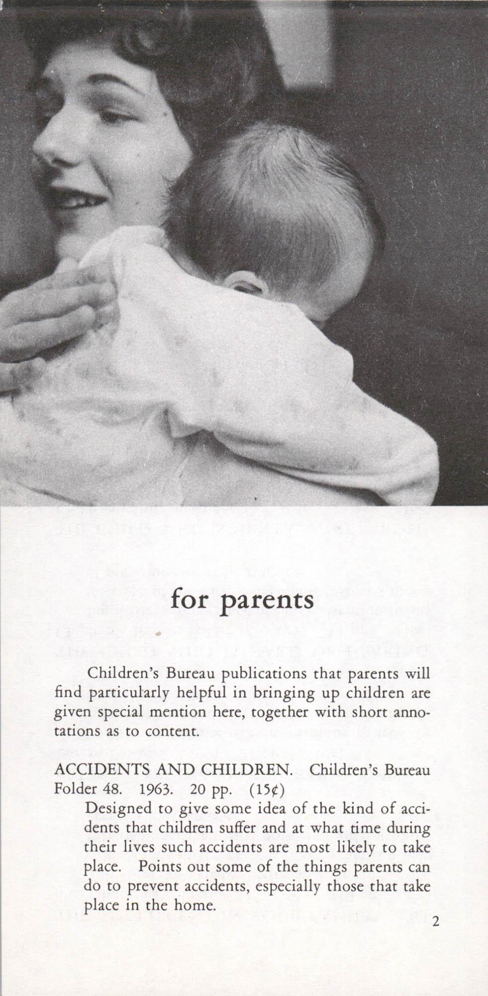 Publications of the Children's Bureau, Page 2
