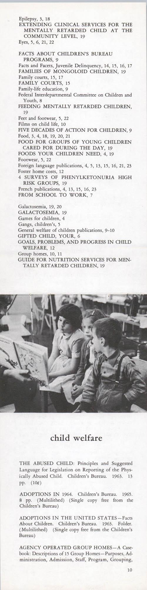 Publications of the Children's Bureau, Page 10