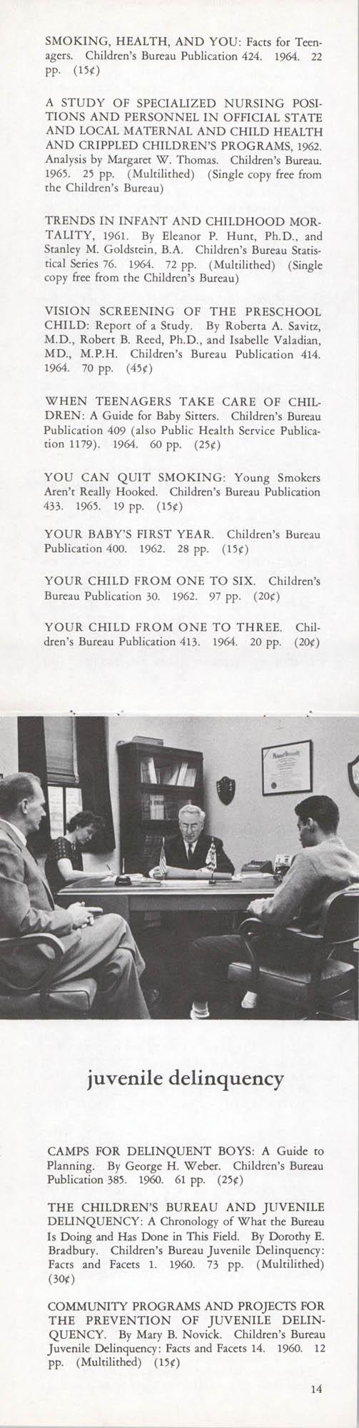 Publications of the Children's Bureau, Page 14