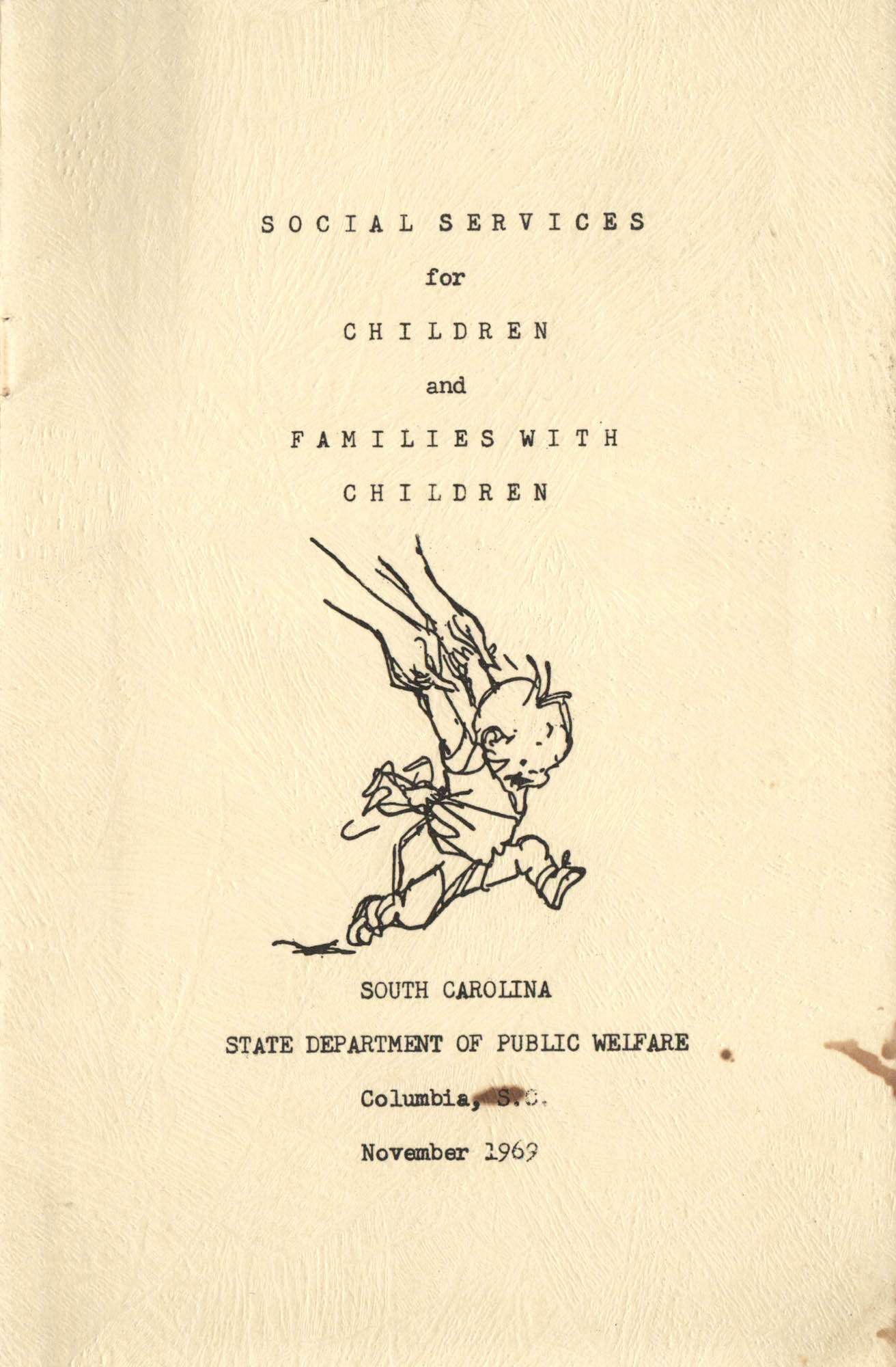 Social Services for Children and Families with Children, Front Cover