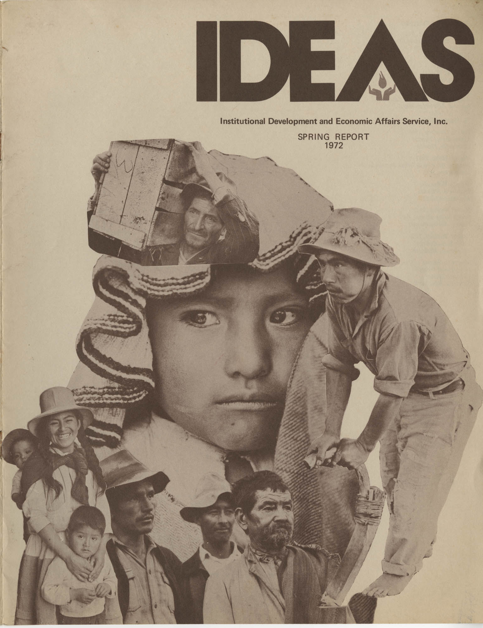 IDEAS, Spring Report 1972, Front Cover Exterior