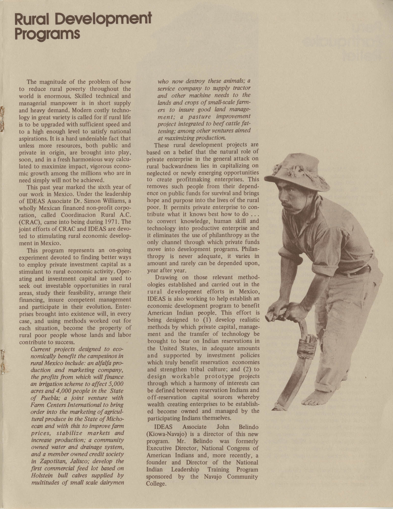 IDEAS, Spring Report 1972, Page 5