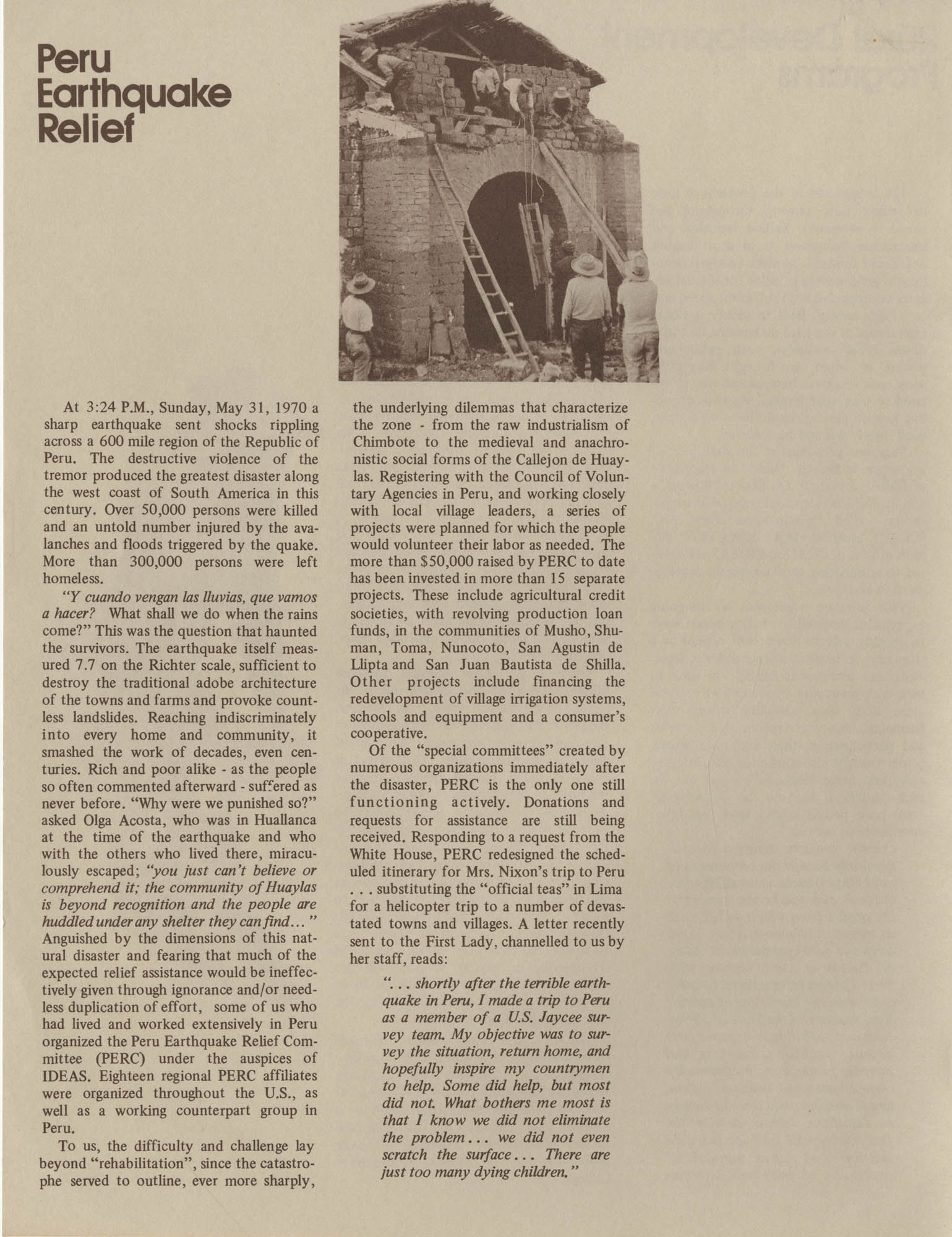 IDEAS, Spring Report 1972, Page 6