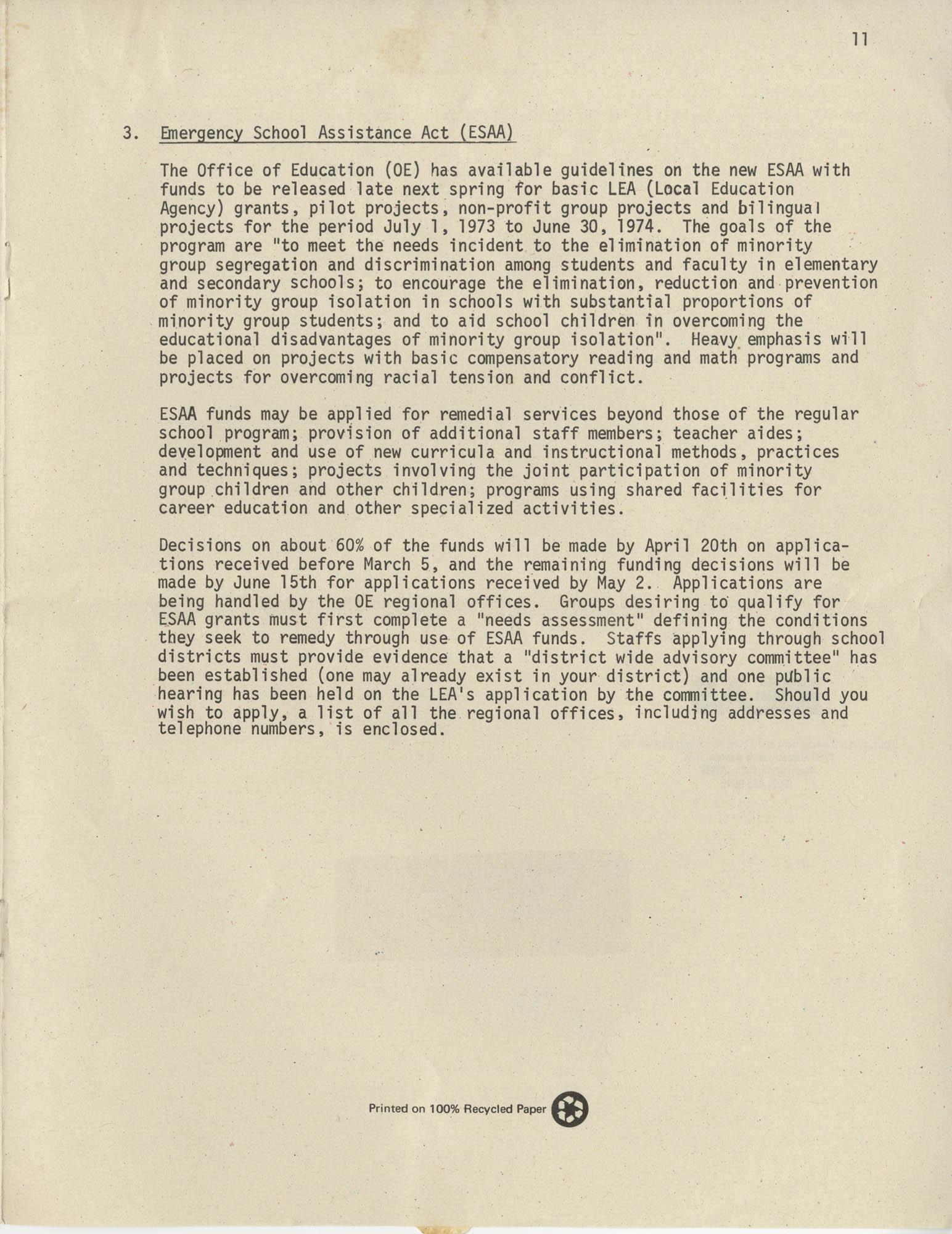 Exchange, Vol. 1, No. 1, Page 11