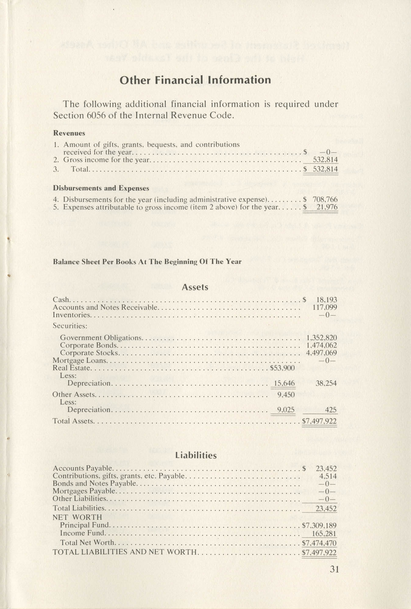 Southern Education Foundation, Annual Report 1971-1972, Page 31