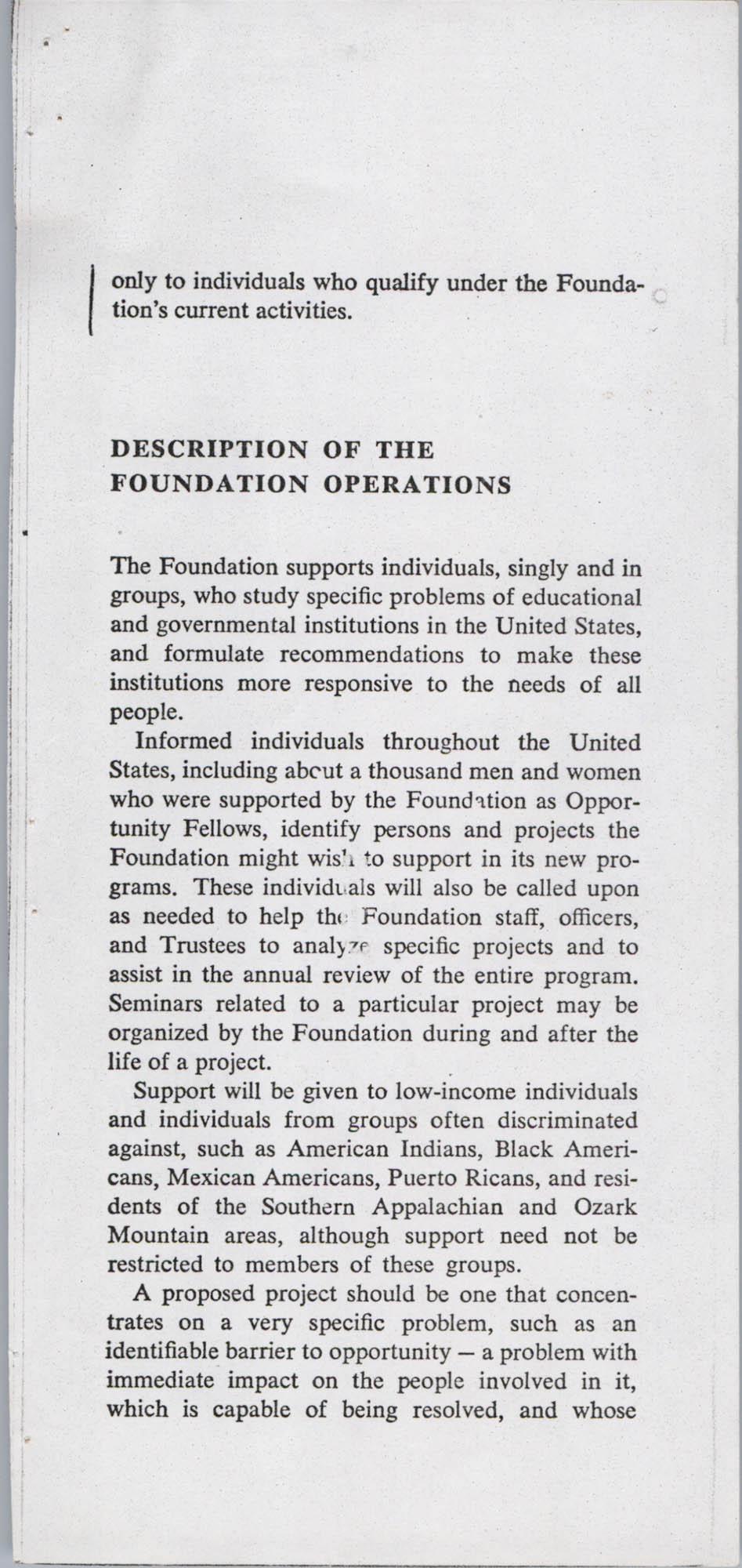 John Hay Whitney Foundation, Page 3