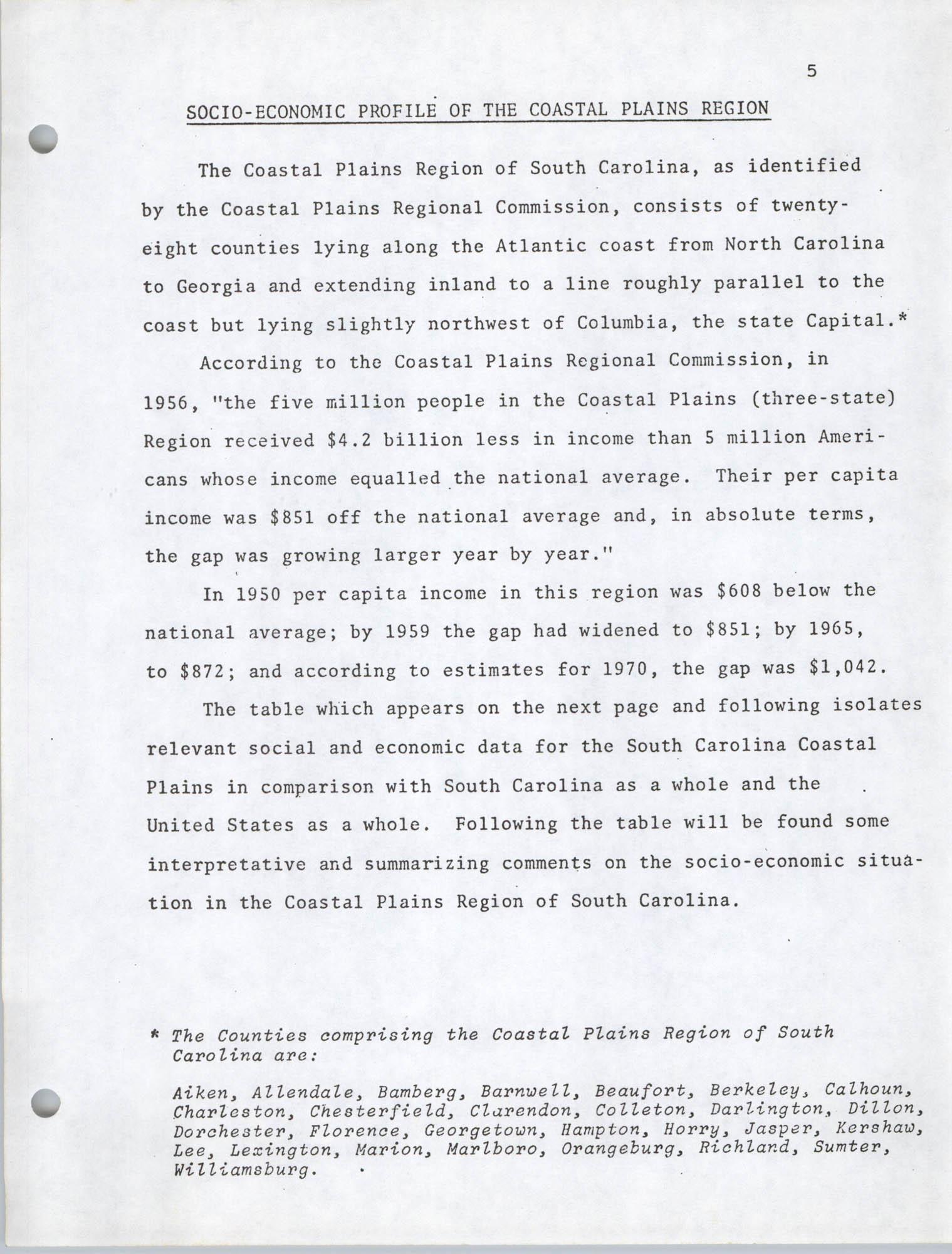 Coastal Plains Human Development Coordinate Council, Page 5