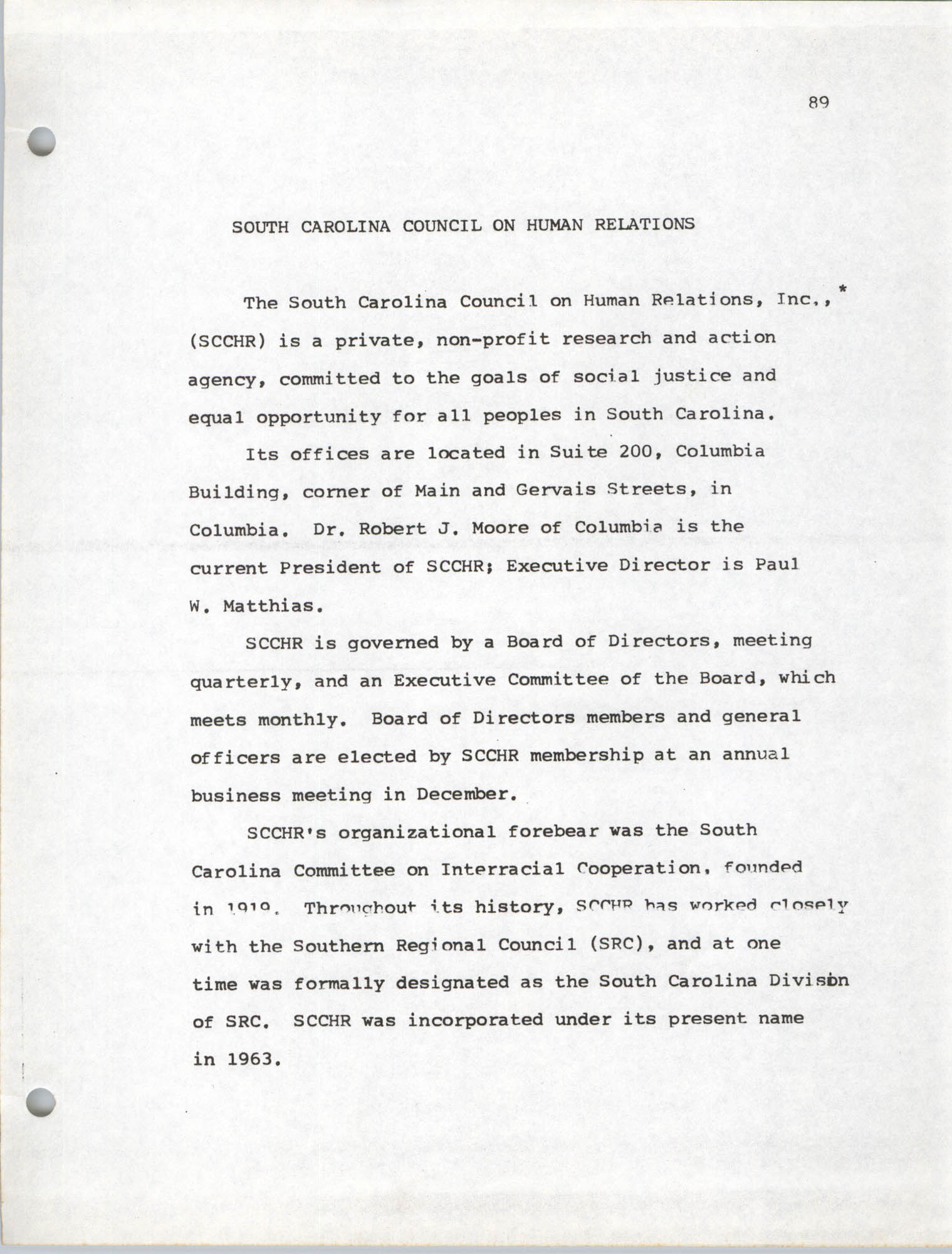 Coastal Plains Human Development Coordinate Council, Page 89