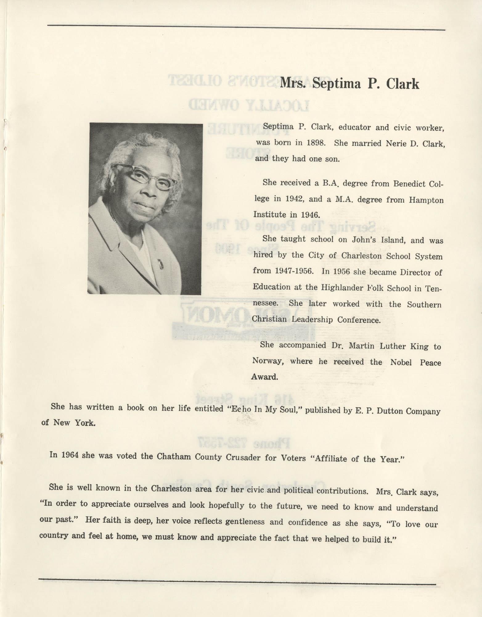 1972 Appreciation Dinner Program, Page 13