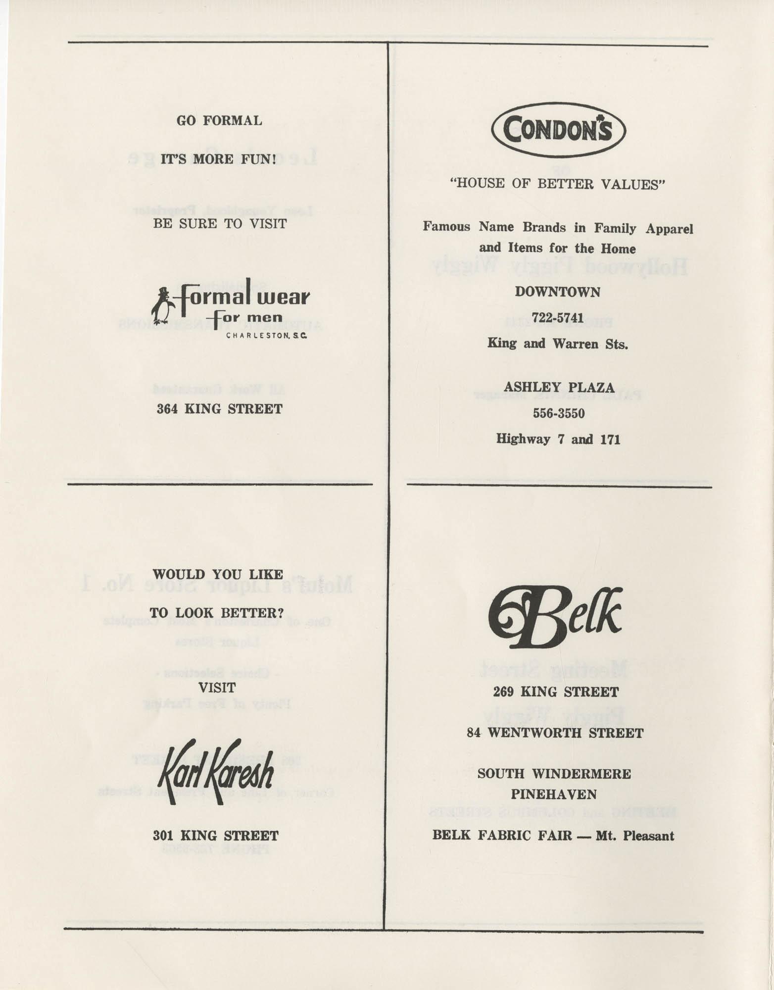 1972 Appreciation Dinner Program, Page 22