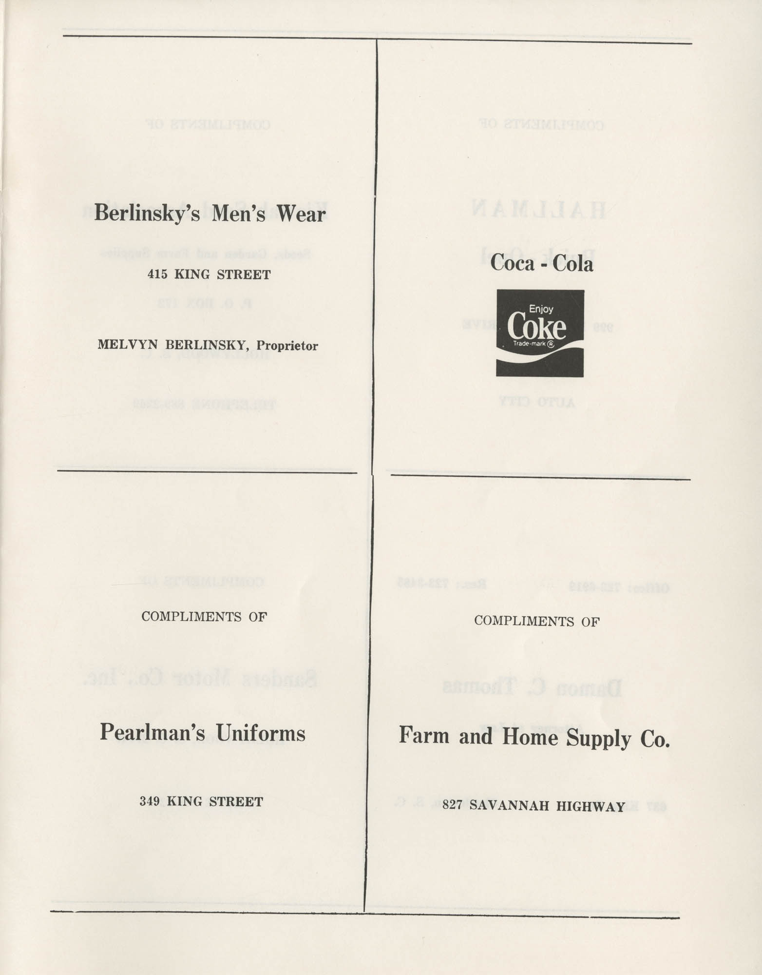 1972 Appreciation Dinner Program, Page 27