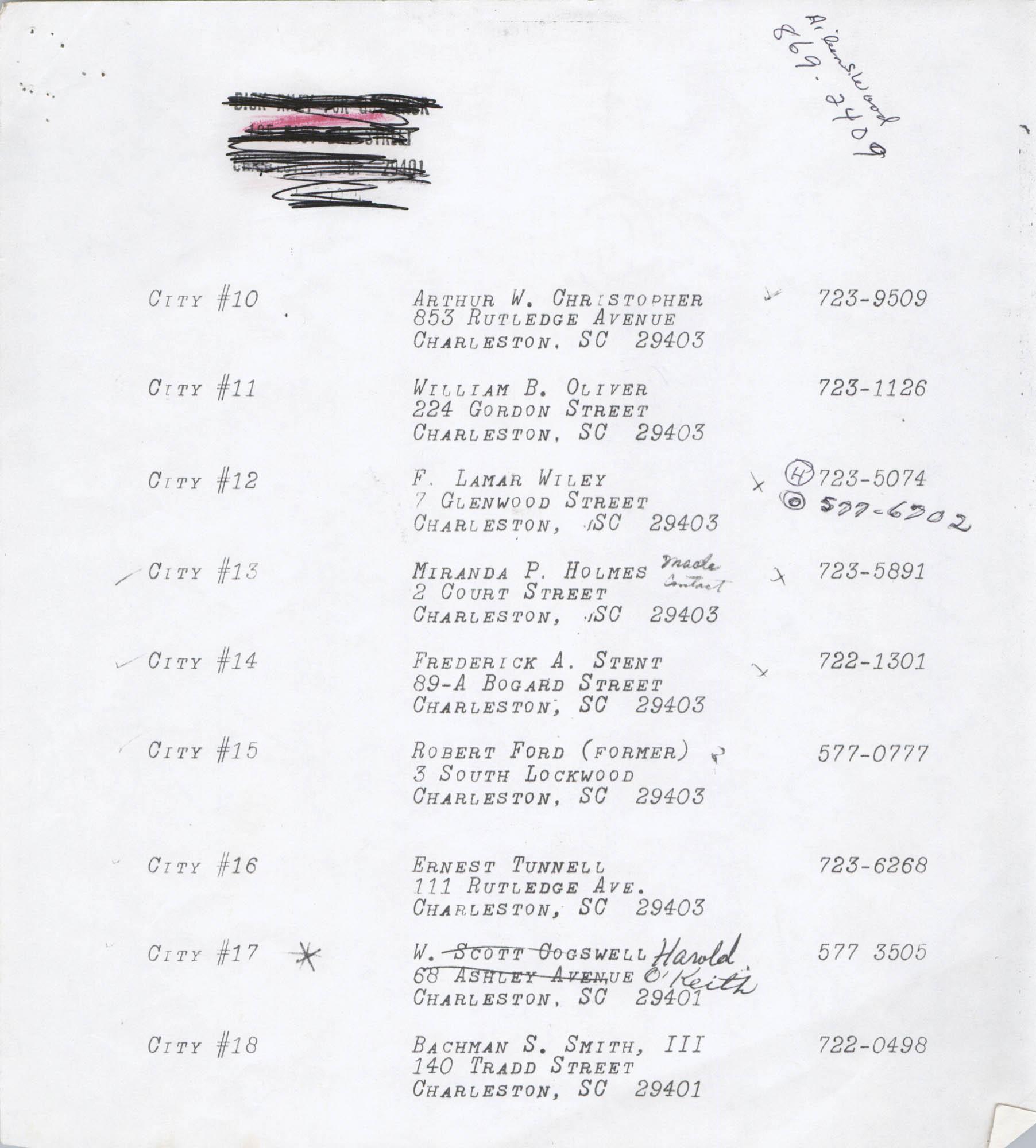 Directory of South Carolina Individuals, Page 4
