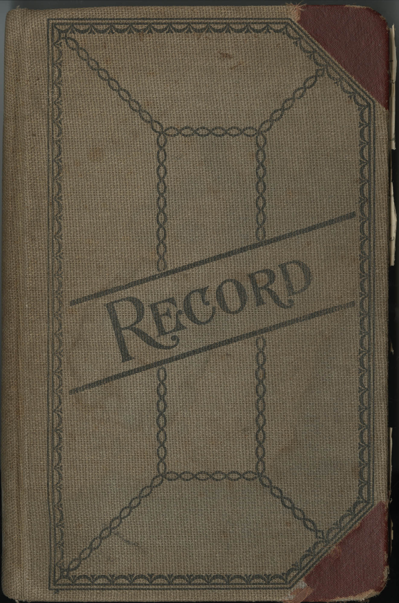 Minutes, Book Lovers' Club, 1944-1958, Front Cover Exterior
