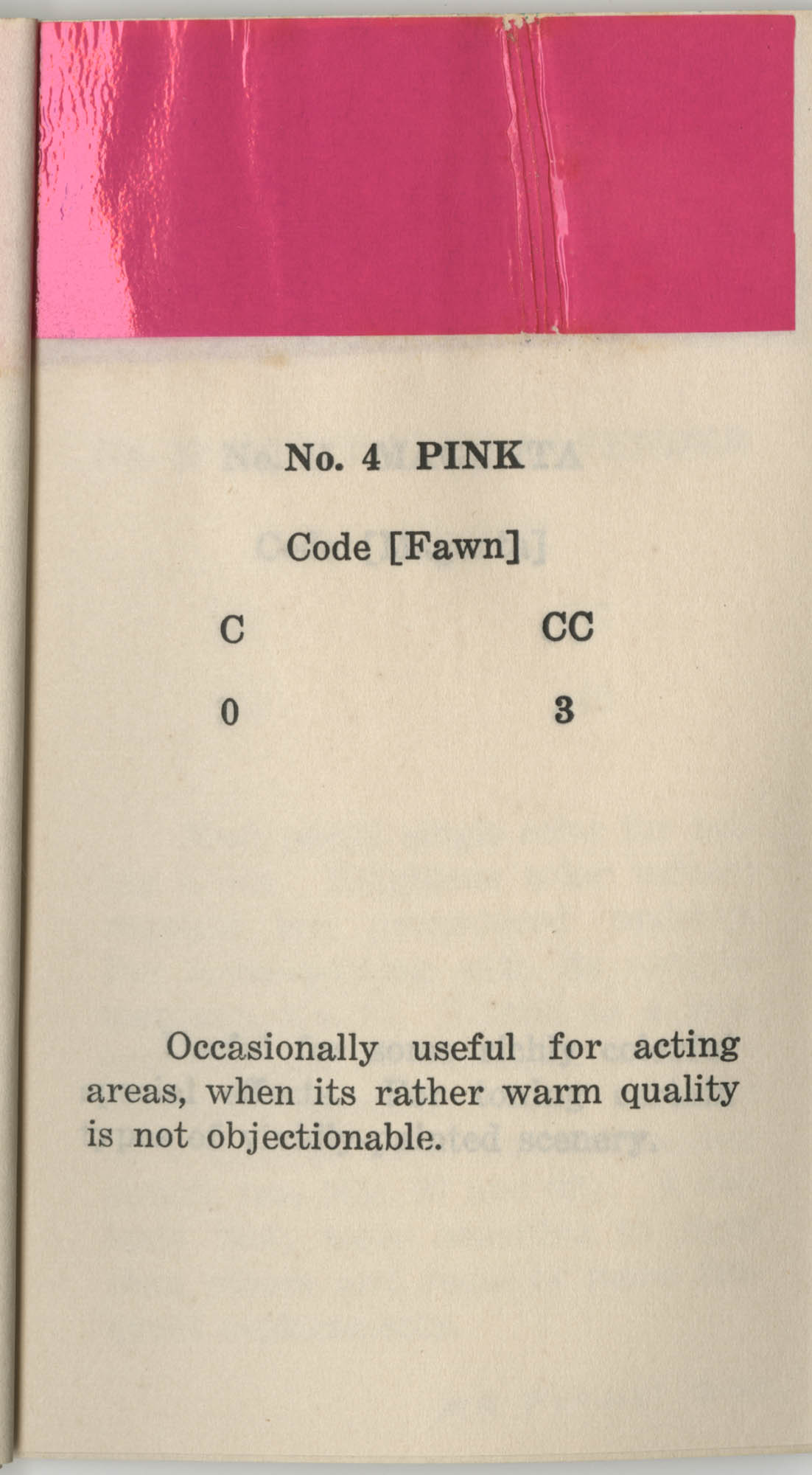 Colored Gelatine for the Theatre School and Community Playhouse, Page 7