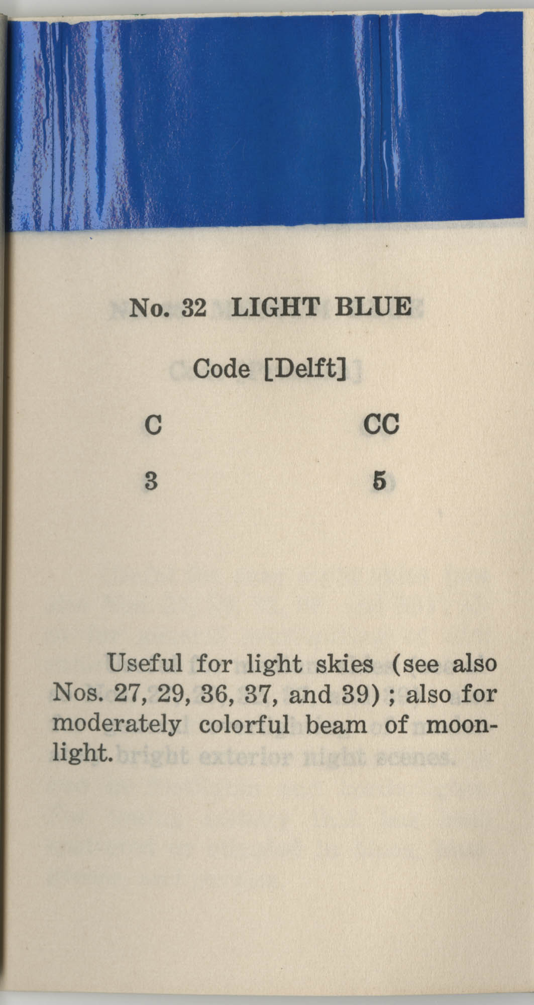 Colored Gelatine for the Theatre School and Community Playhouse, Page 14